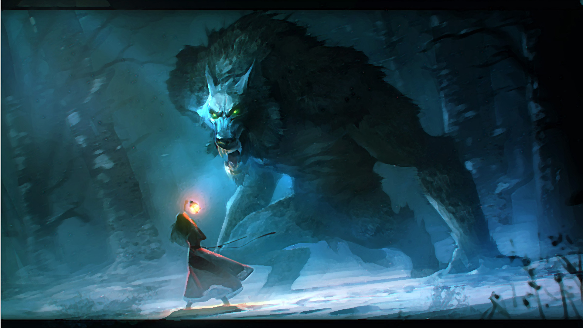 1920x1080 Werewolf Full HD wallpaper by Niconoff deviantart | Full HD Wallpapers .