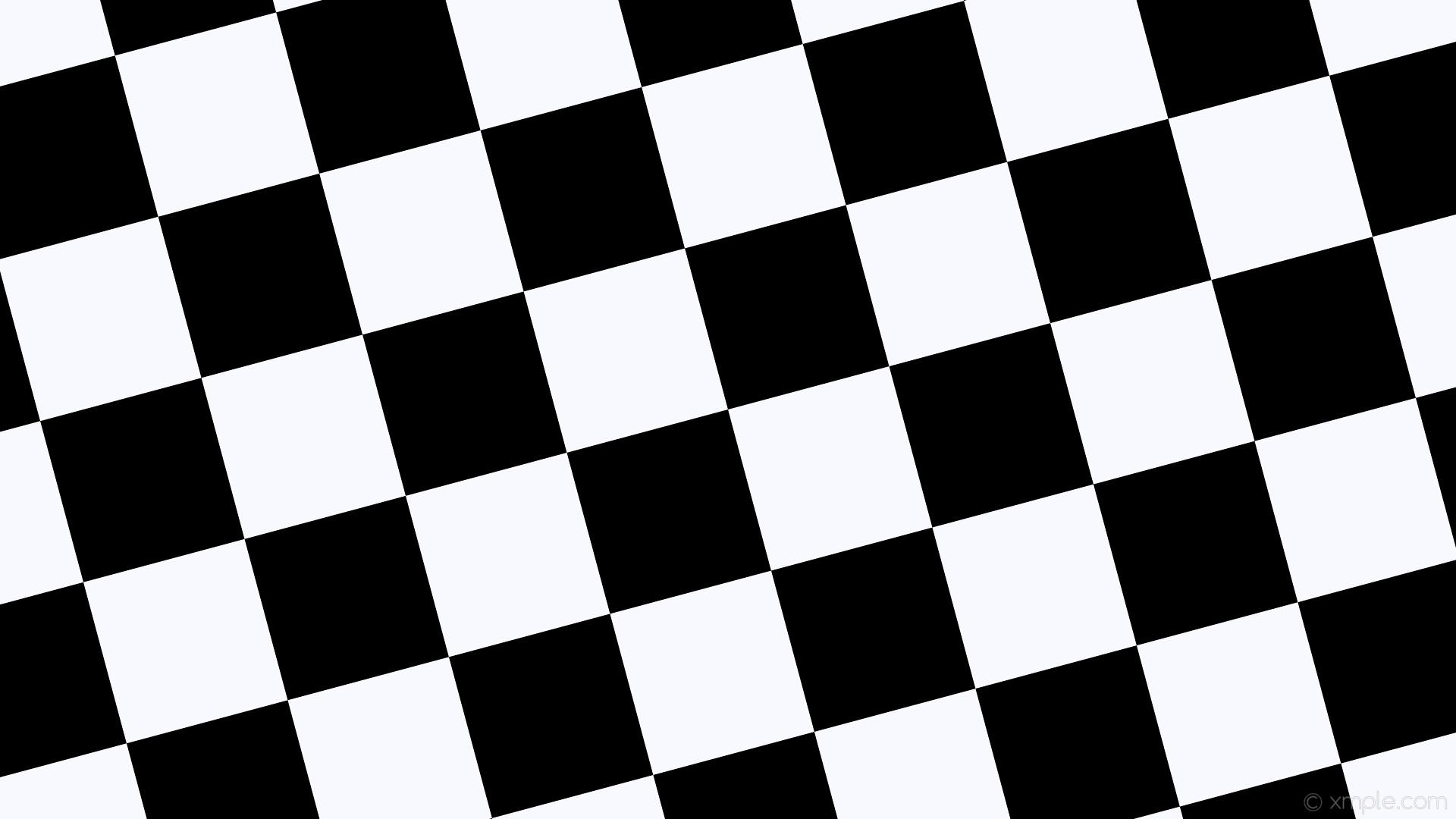 Black white checkered wallpaper