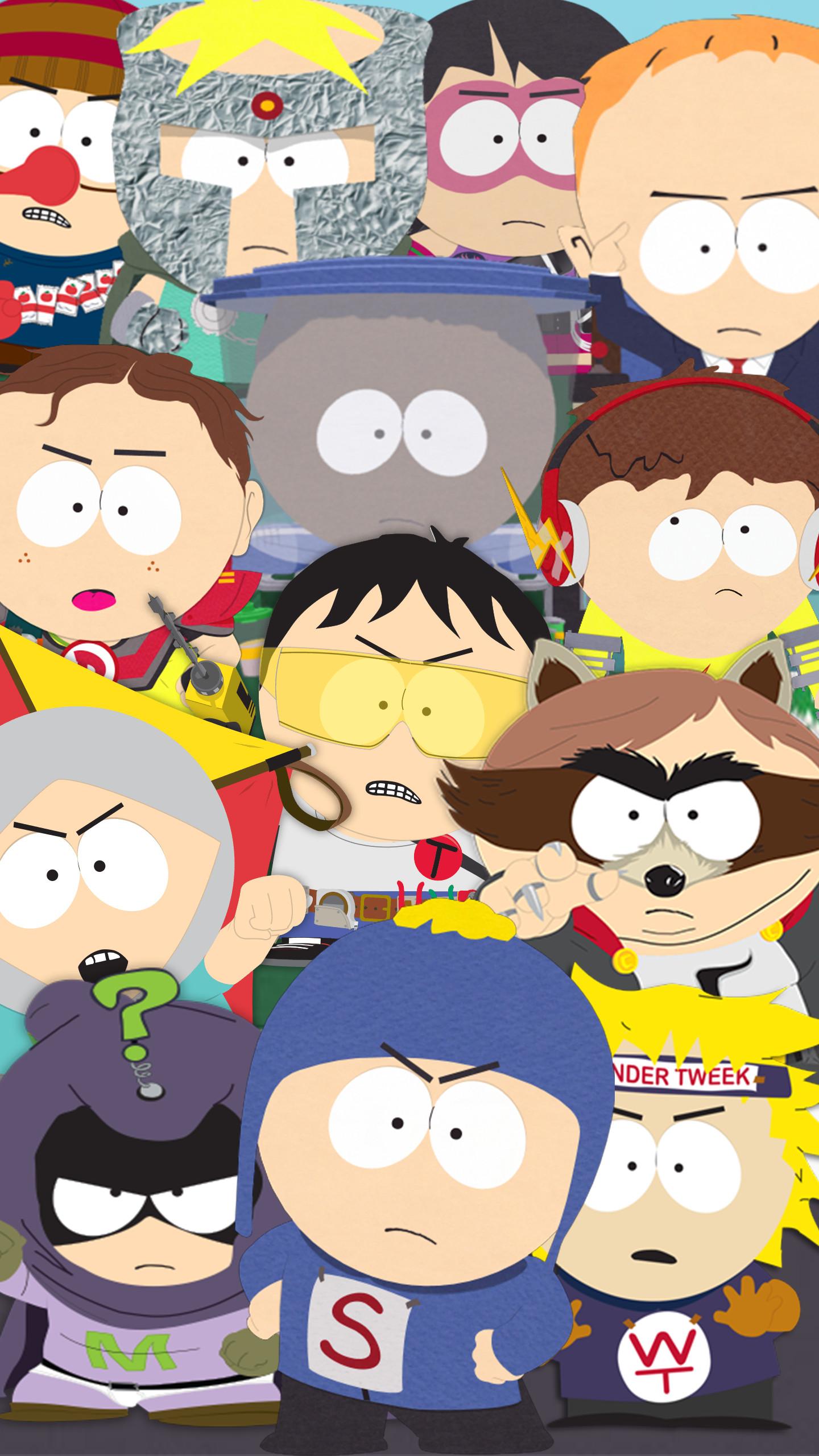 South Park Super Heroes