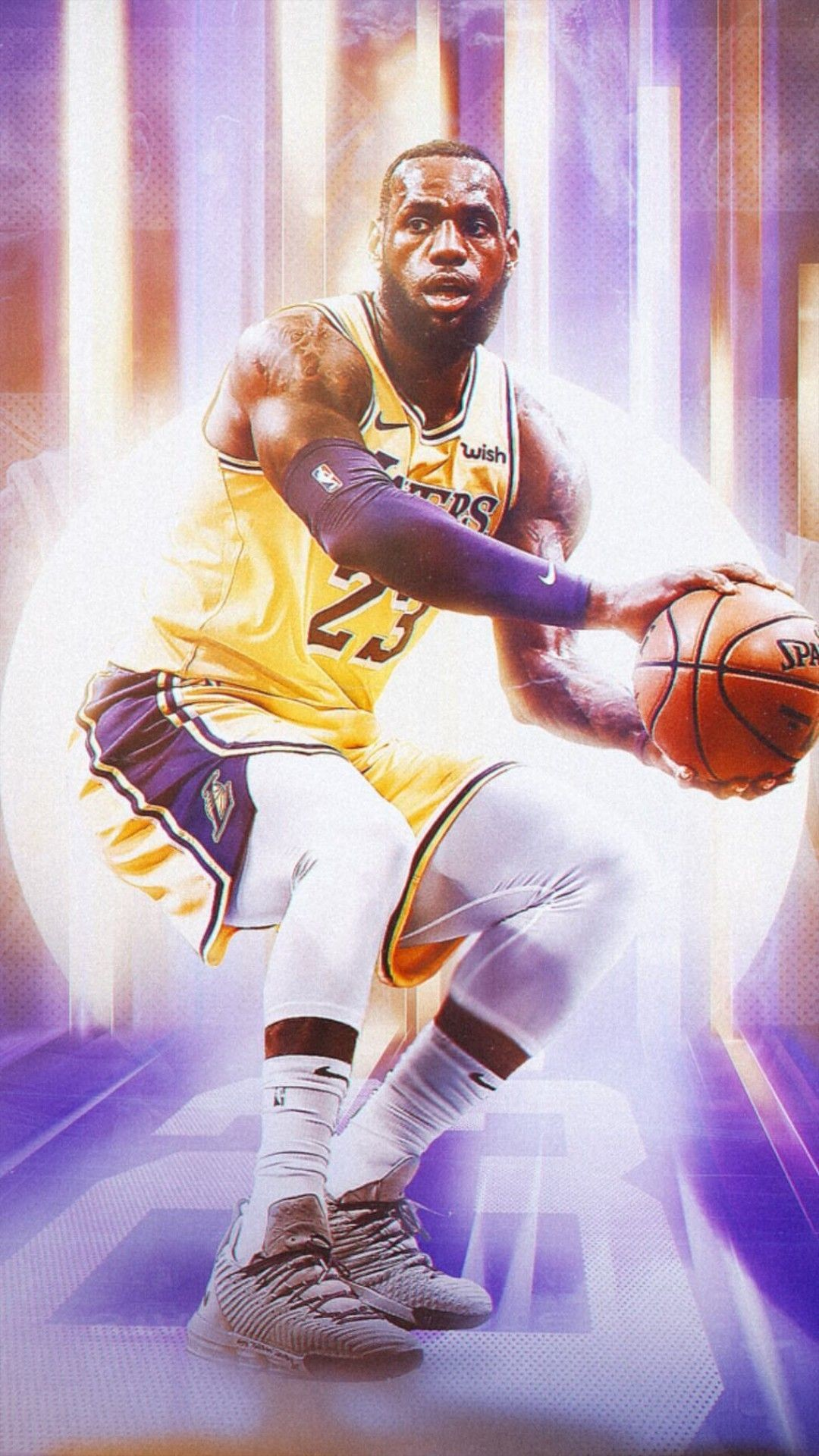 1080x1920 LeBron James LA Lakers wallpaper Lakers Wallpaper, Magic Johnson, La  Lakers, Los Angeles