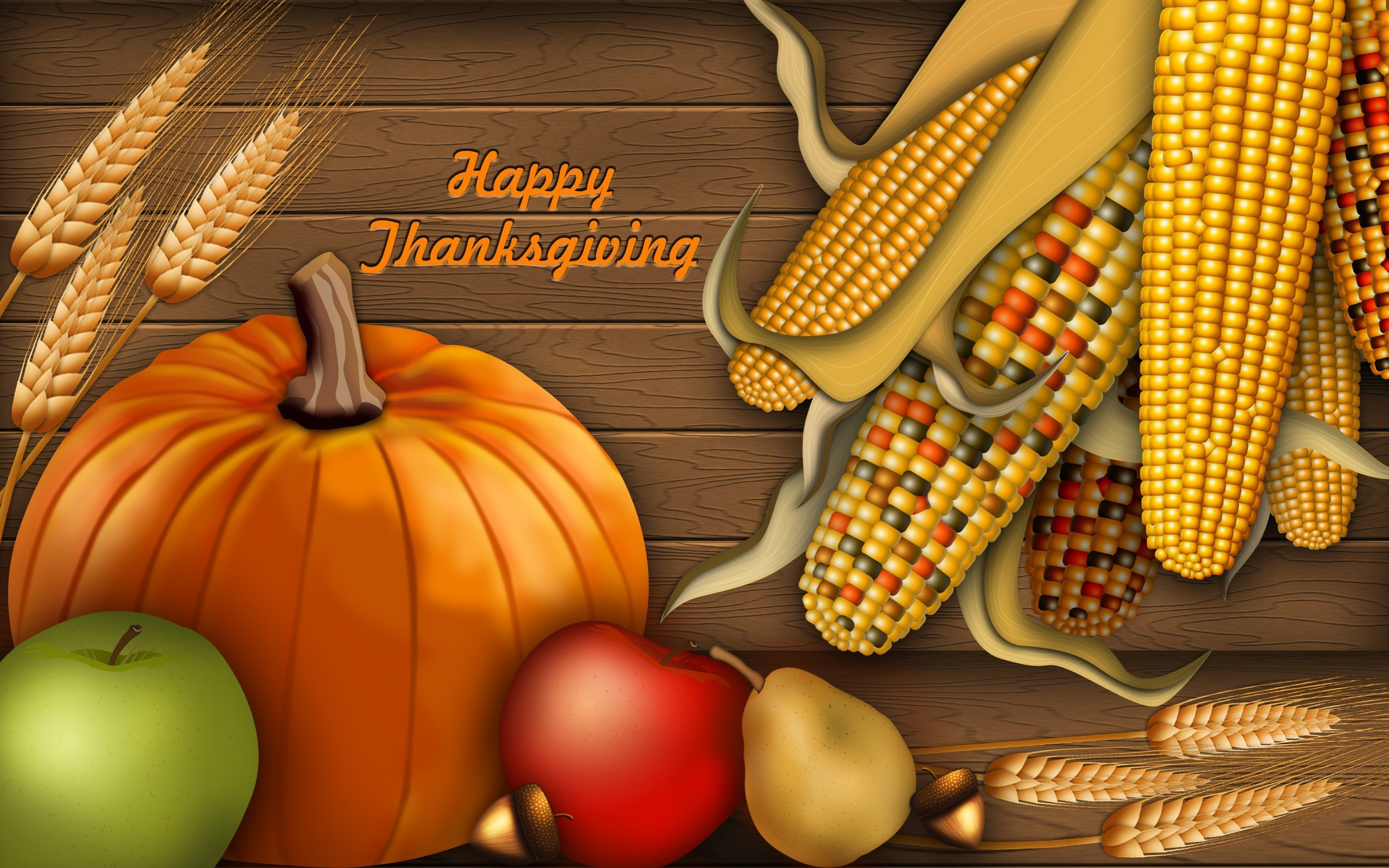 2560x1600 Thanksgiving Holiday HD Wallpapers Free Download.