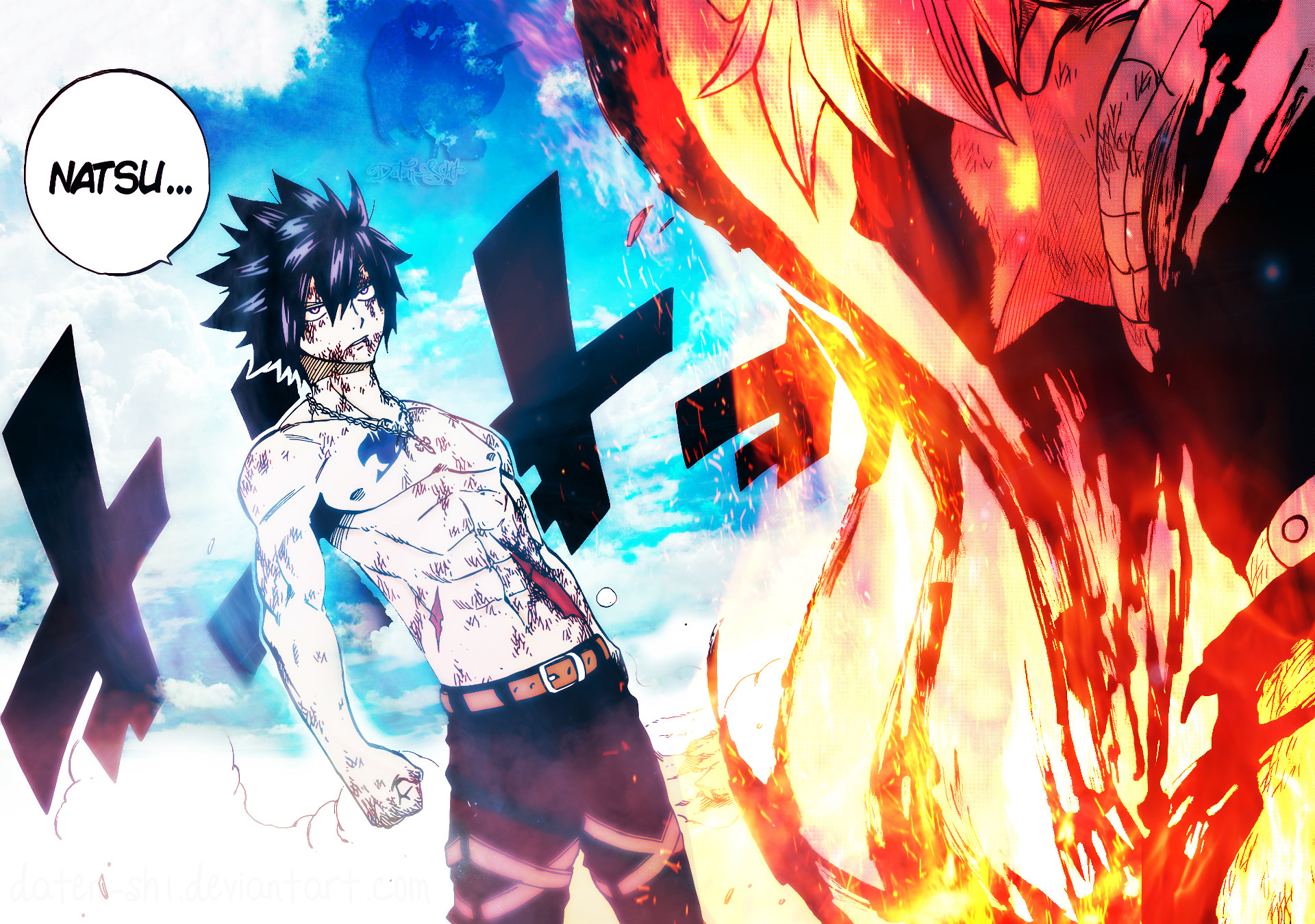 1920x1350 Anime  Fairy Tail Dragneel Natsu Fullbuster Gray