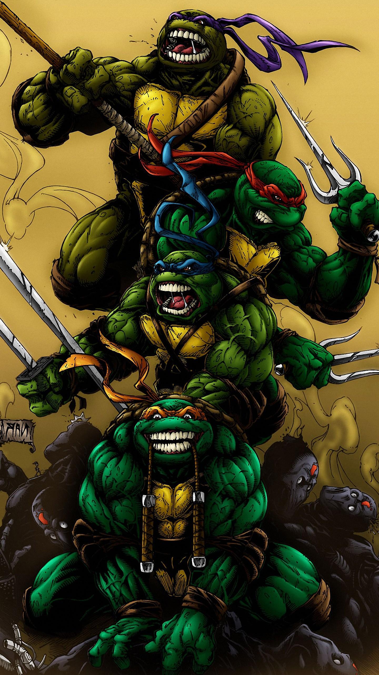 Ninja Turtle Nails: Ninja Turtles Wallpaper (72+ Images
