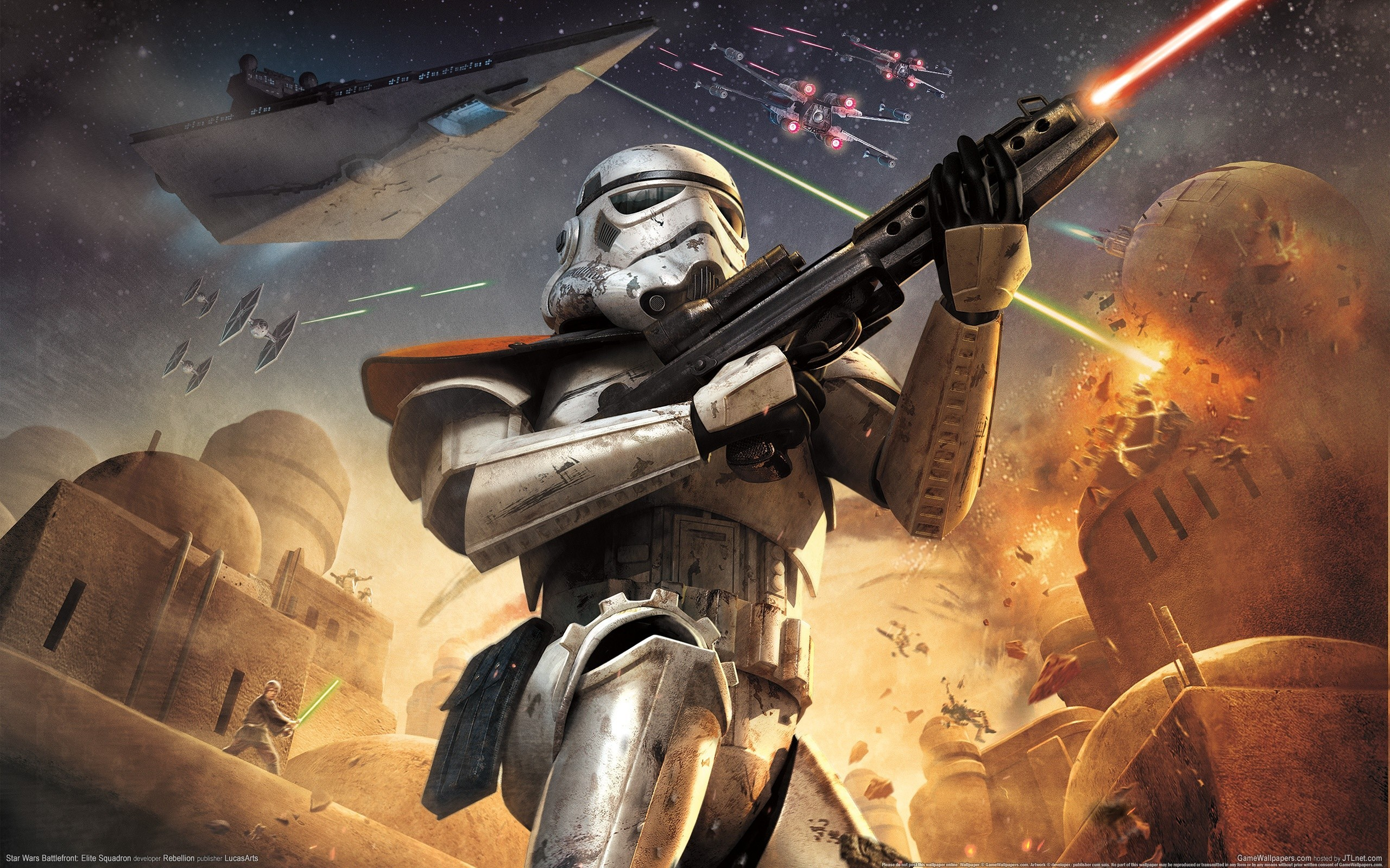 2560x1600 Star wars video games stormtroopers static 3d wallpaper |  | 17715  | WallpaperUP
