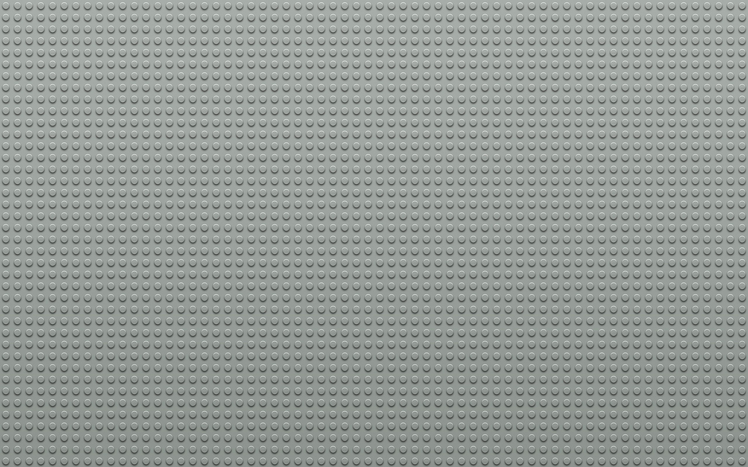 2560x1600  Wallpaper lego, points, circles, light gray