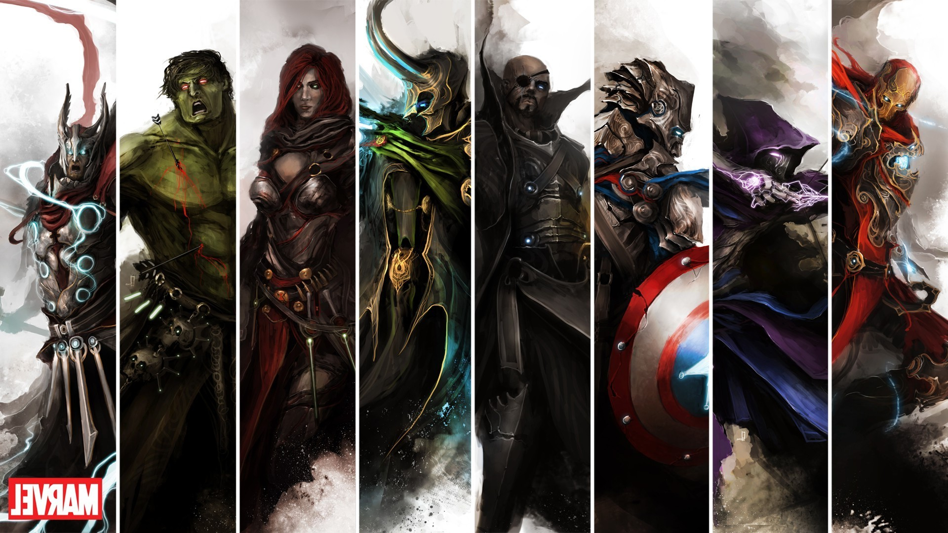 1920x1080 Marvel Comics, The Avengers Wallpapers HD / Desktop and Mobile Backgrounds
