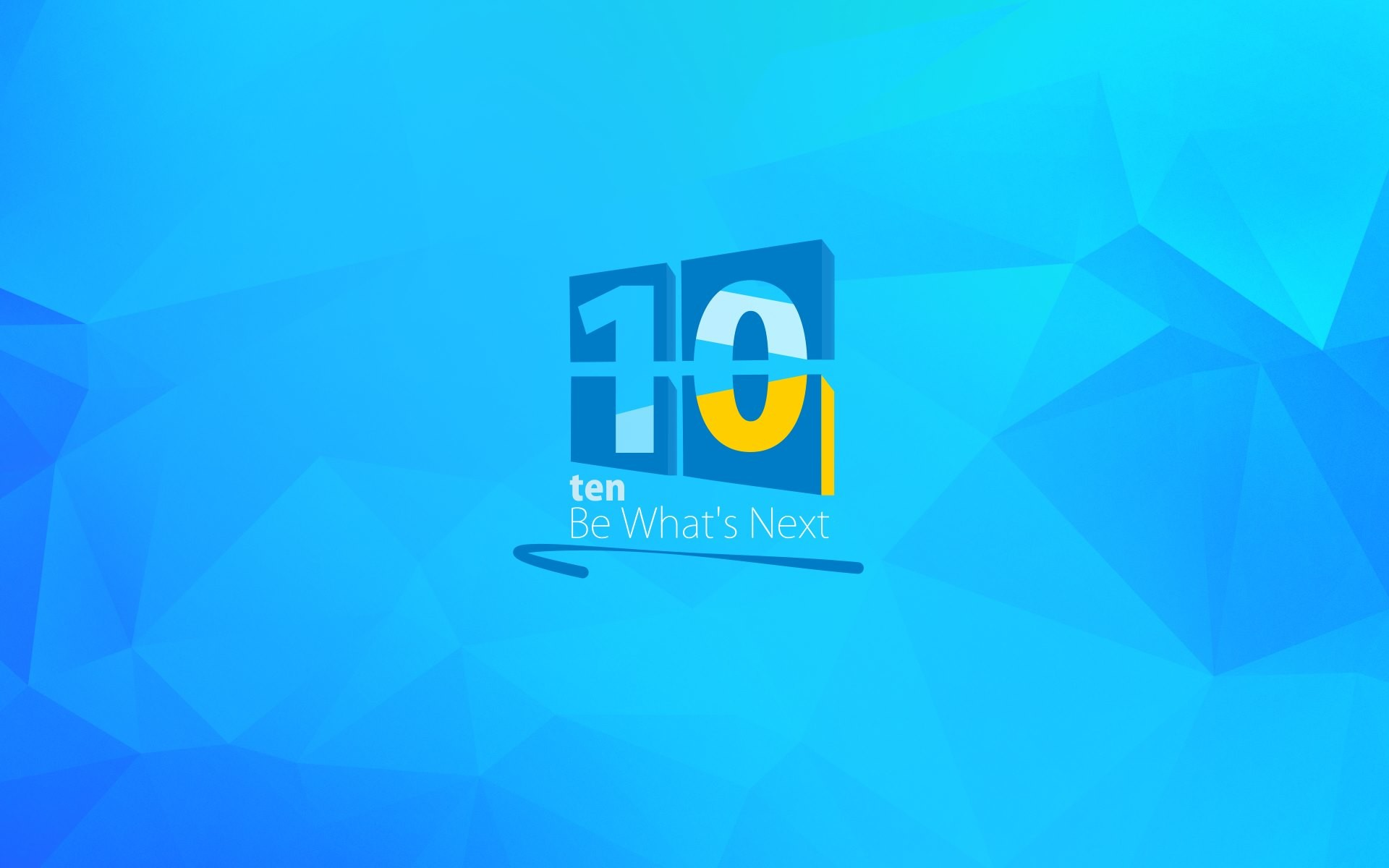 1920x1200 HD Wallpaper: Ten. Be What's Next