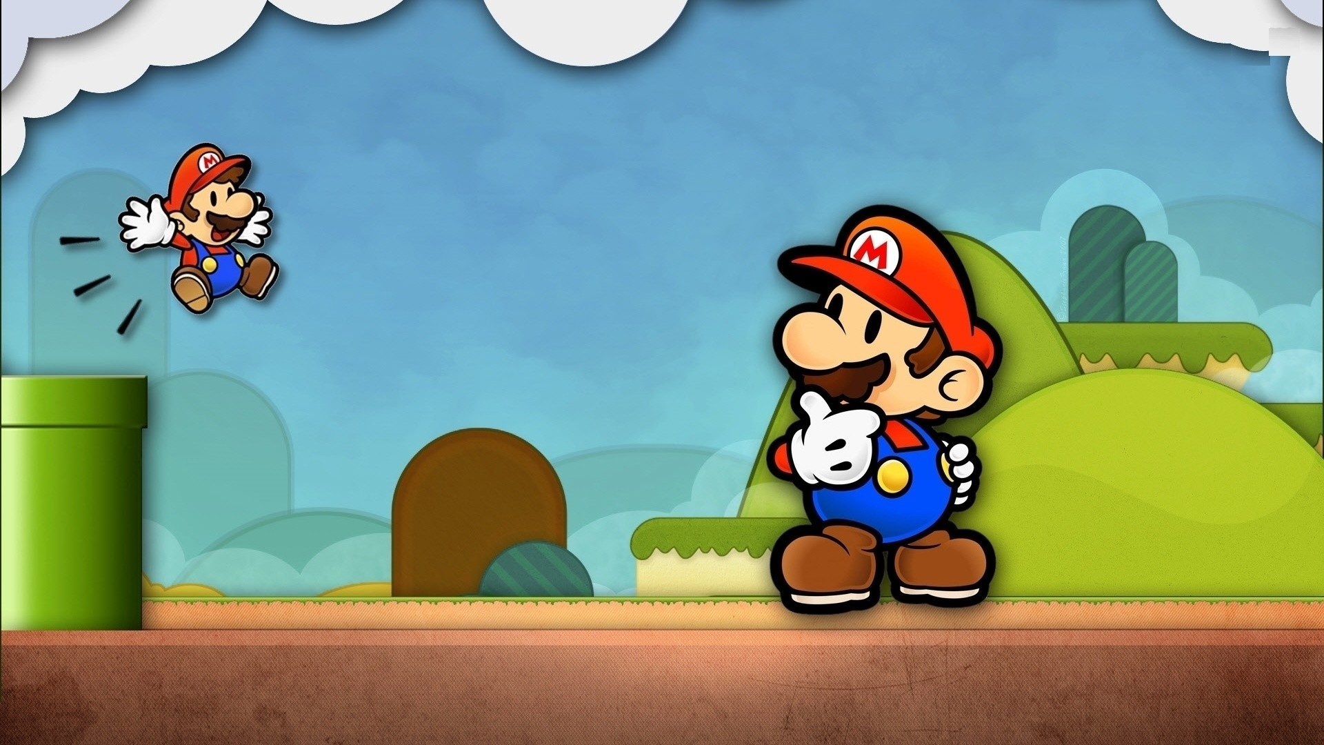 1920x1080 cool mario wallpapers #752353