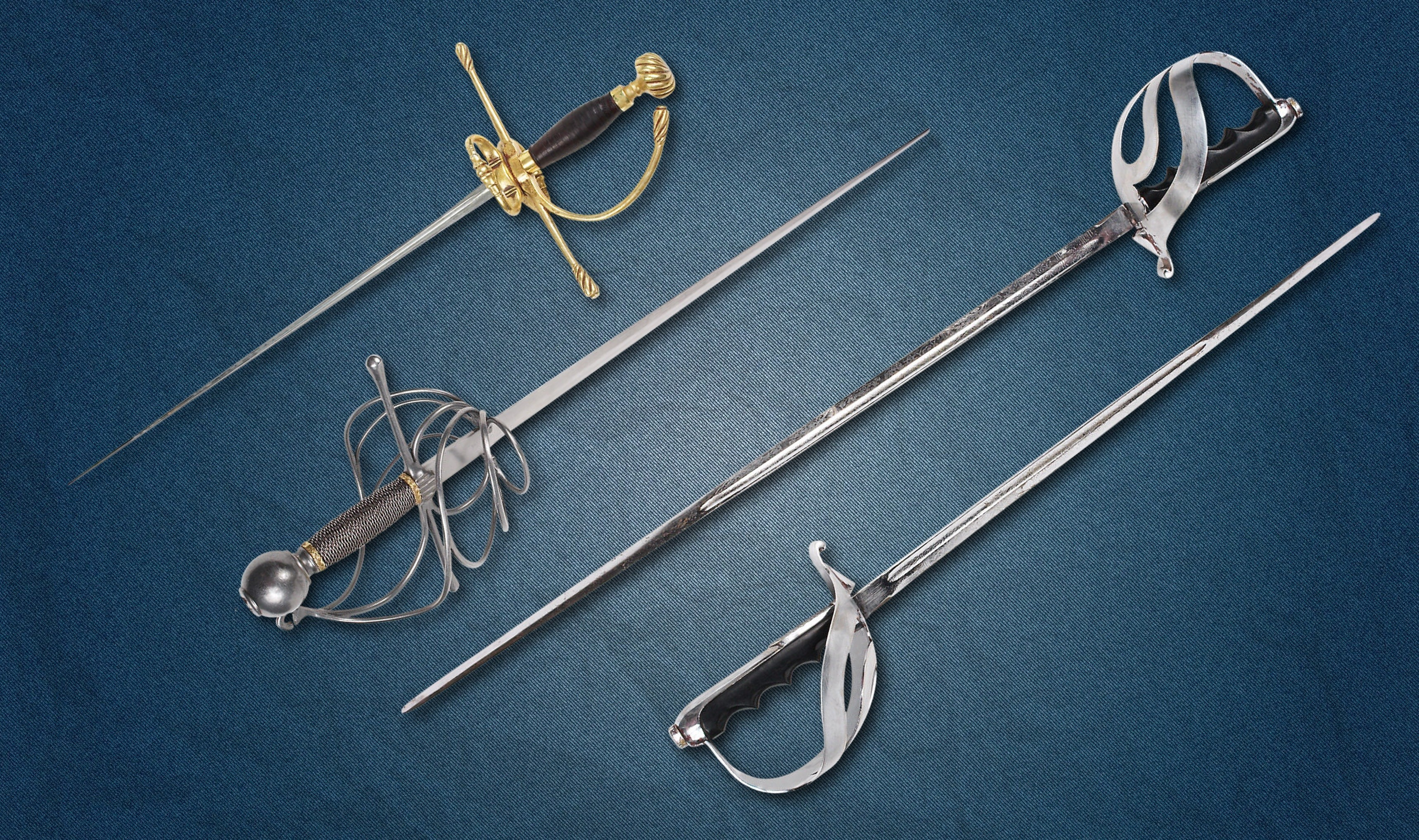 3436x2035 4 assorted sabres swords preview