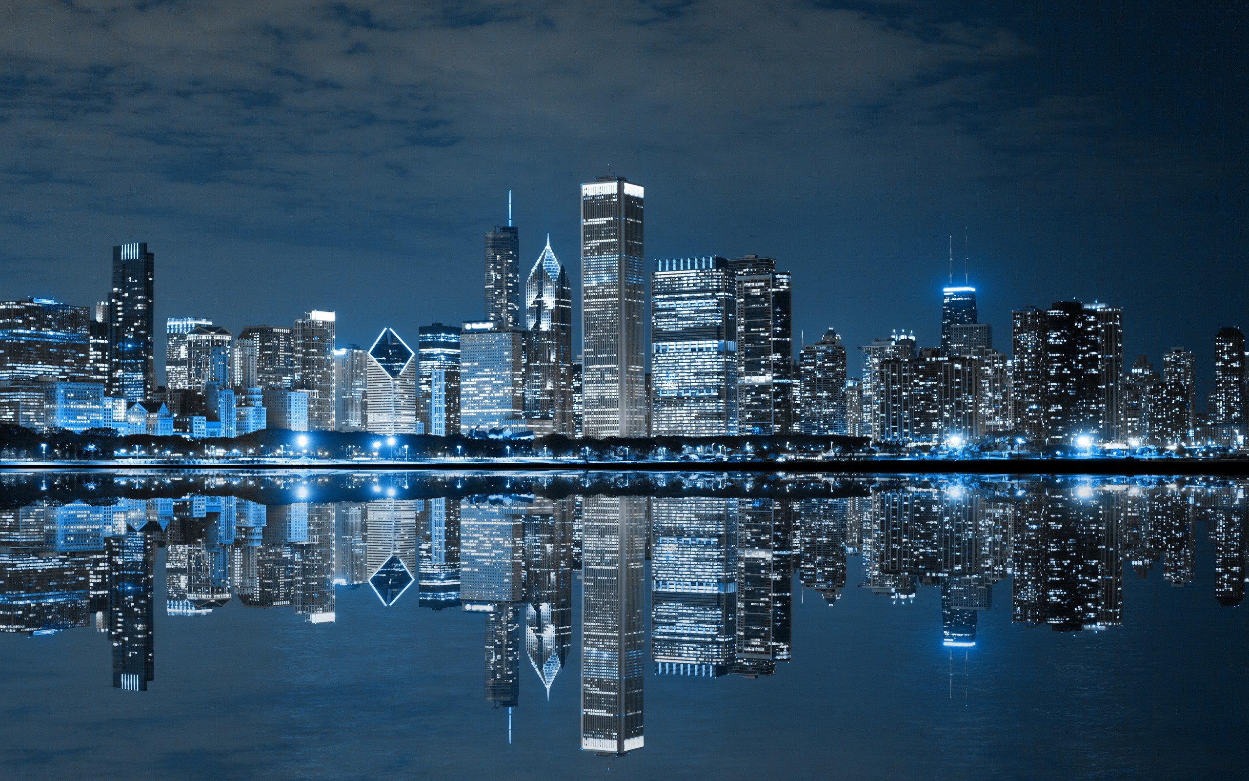 chicago skyline hd wallpaper (77+ images)