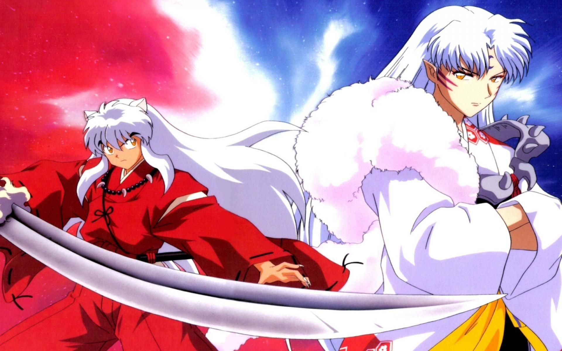 "1920x1200 748x1122 legs, White hair, Fantasy art, Animal ears, Inuyasha Wallpapers HD  ..."">"