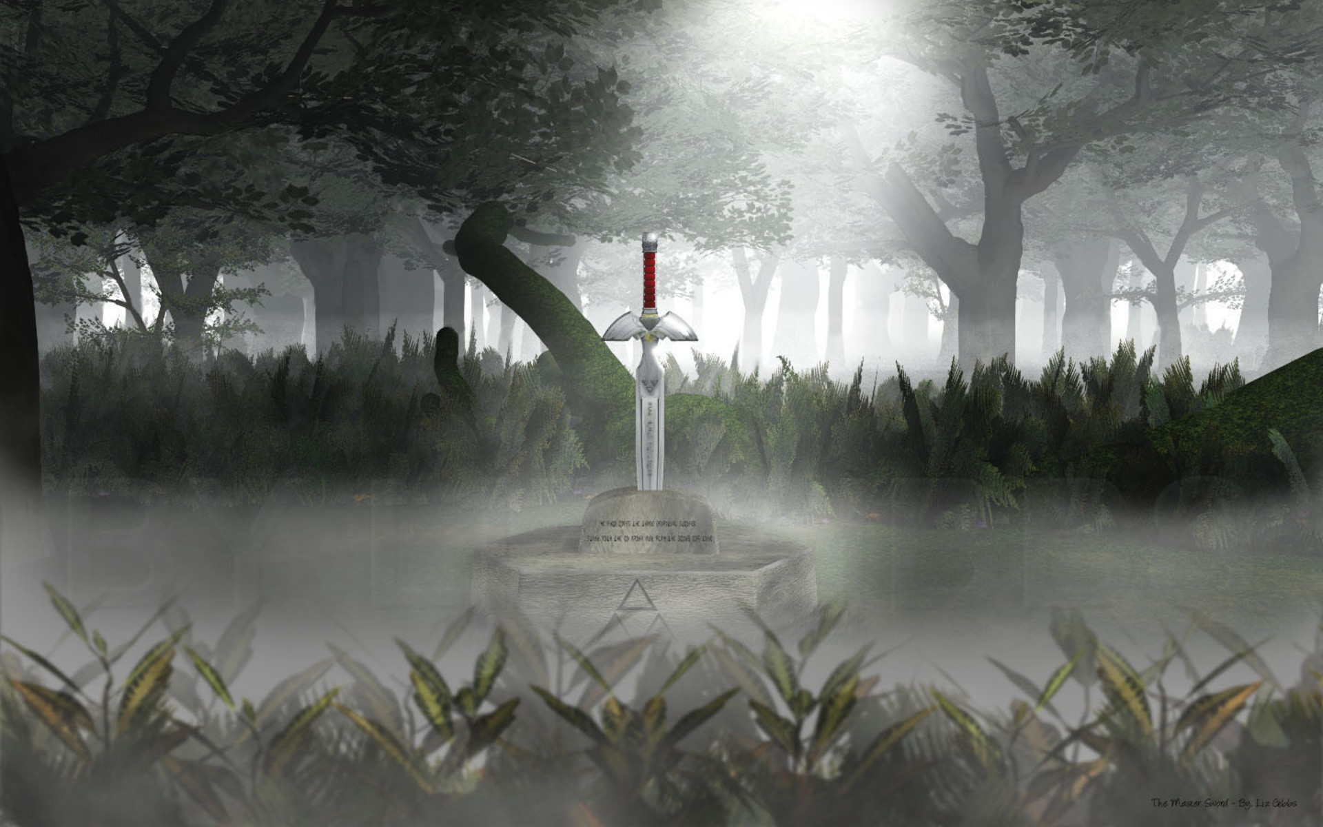 1920x1200 Legend Of Zelda Master Sword wallpaper
