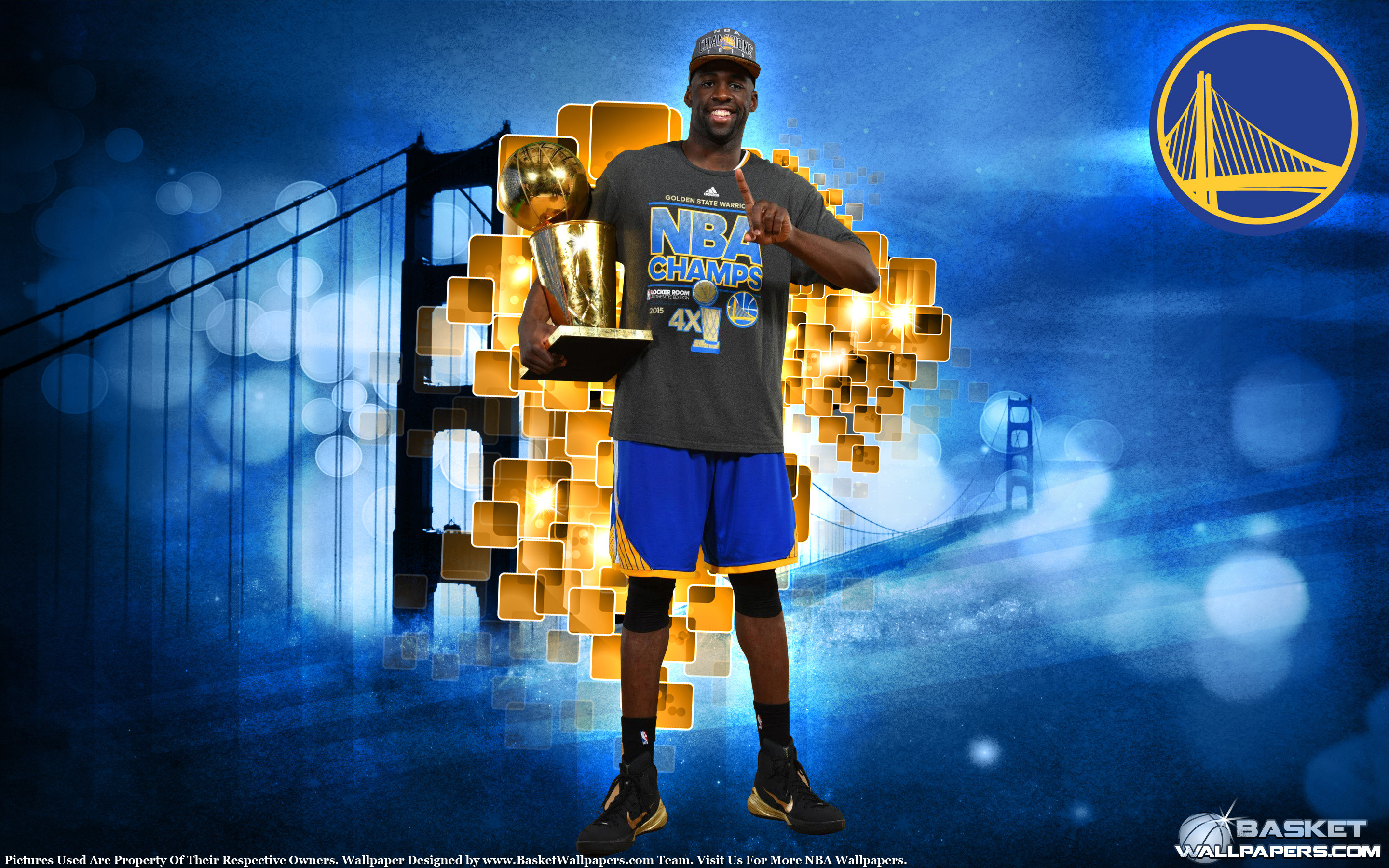 2880x1800 Draymond Green 2015 NBA Champion Wallpaper