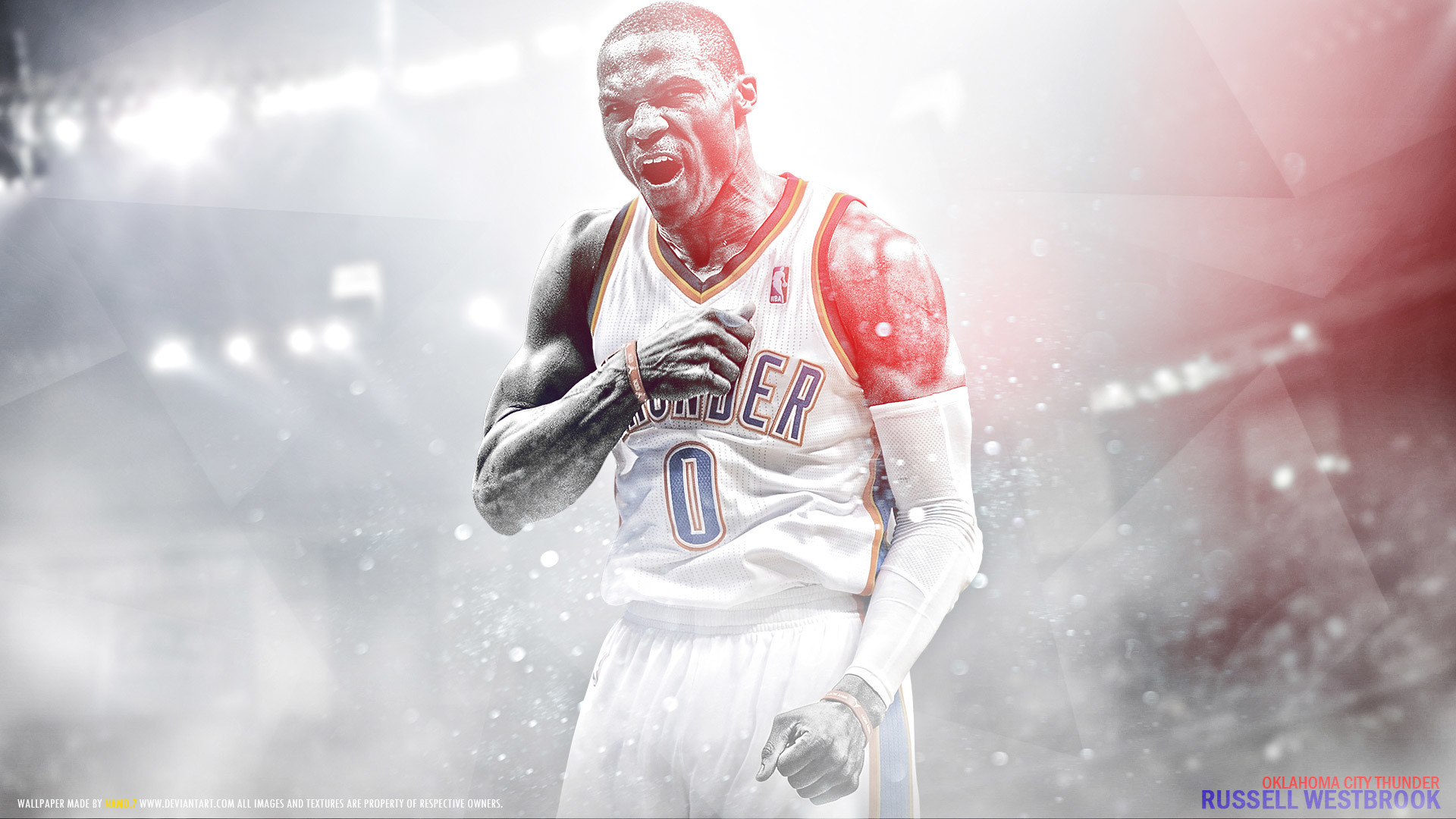 1920x1080 Russ Westbrook 2016  Wallpaper