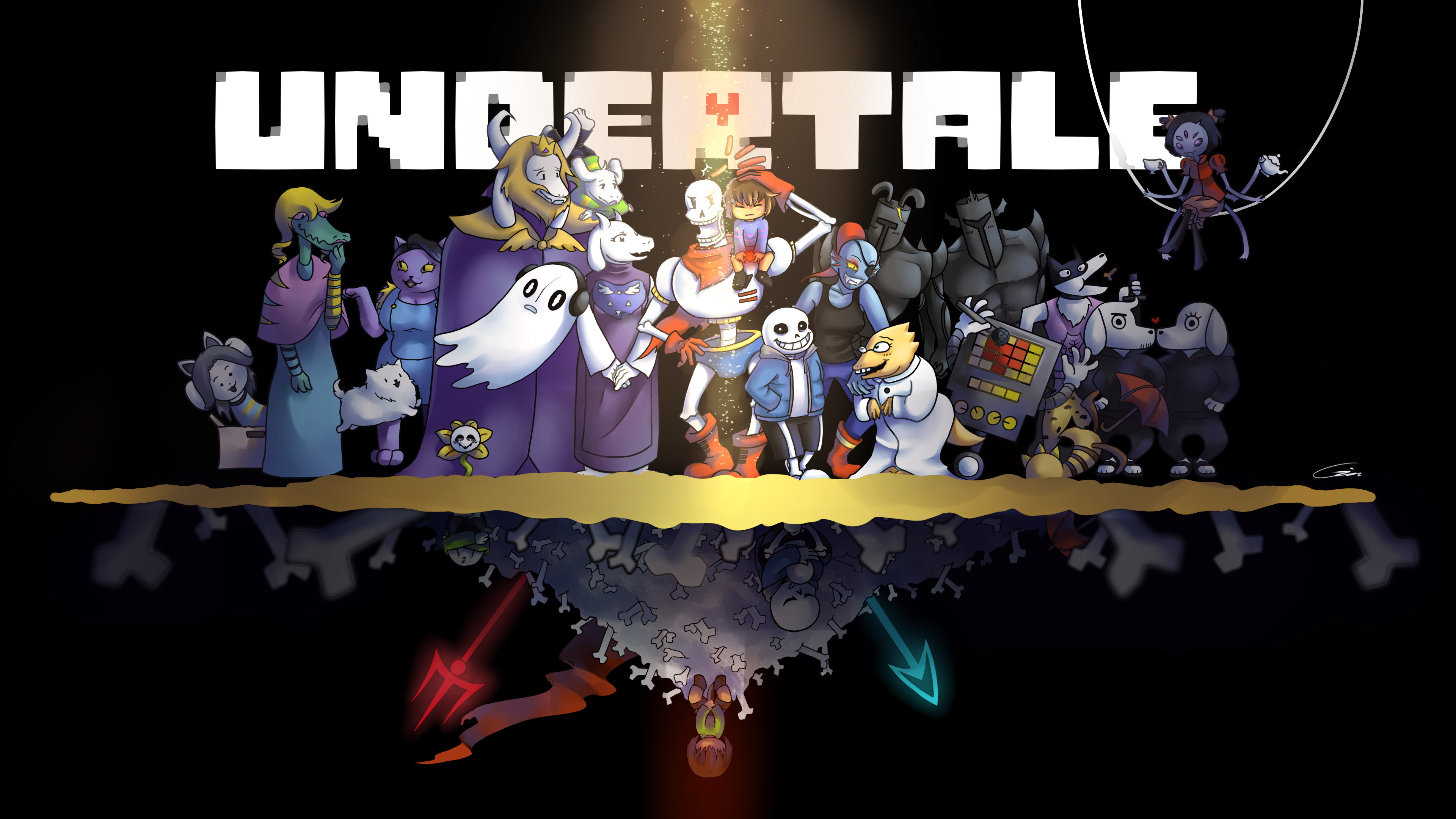 3840x2160 HD Wallpaper | Background Image ID:798682.  Video Game Undertale