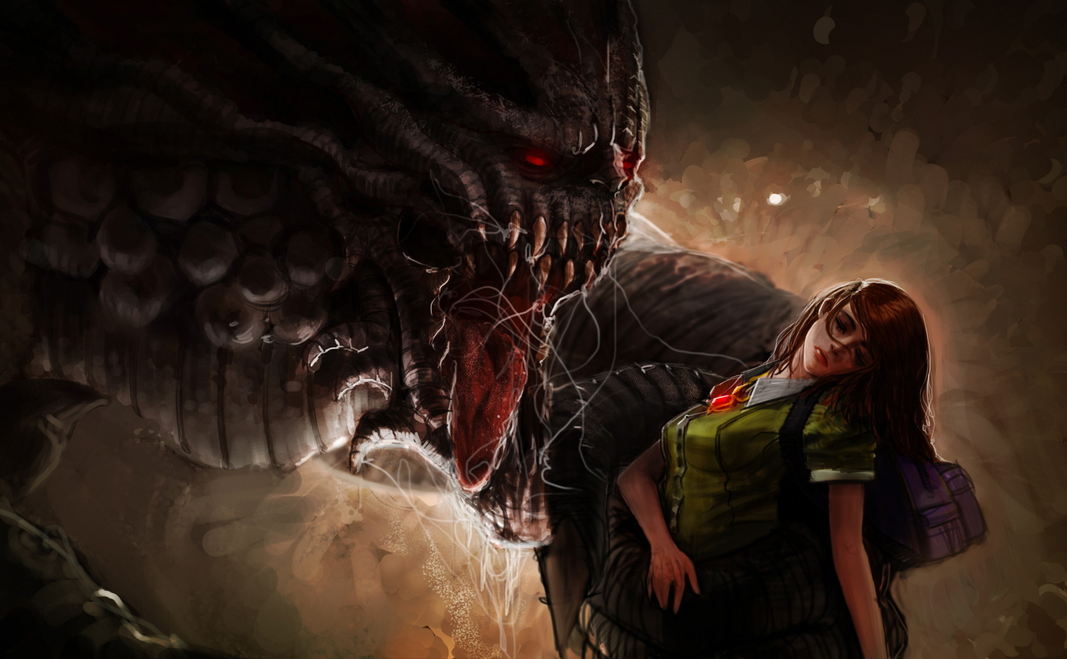 Scary Monster Wallpapers 70 Images