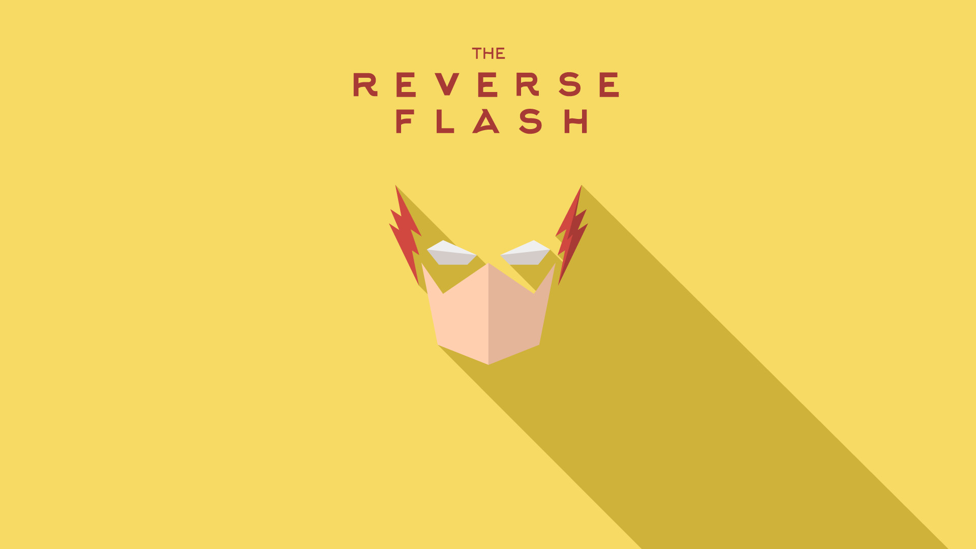 1920x1080 Reverse Flash Logo Wallpaper