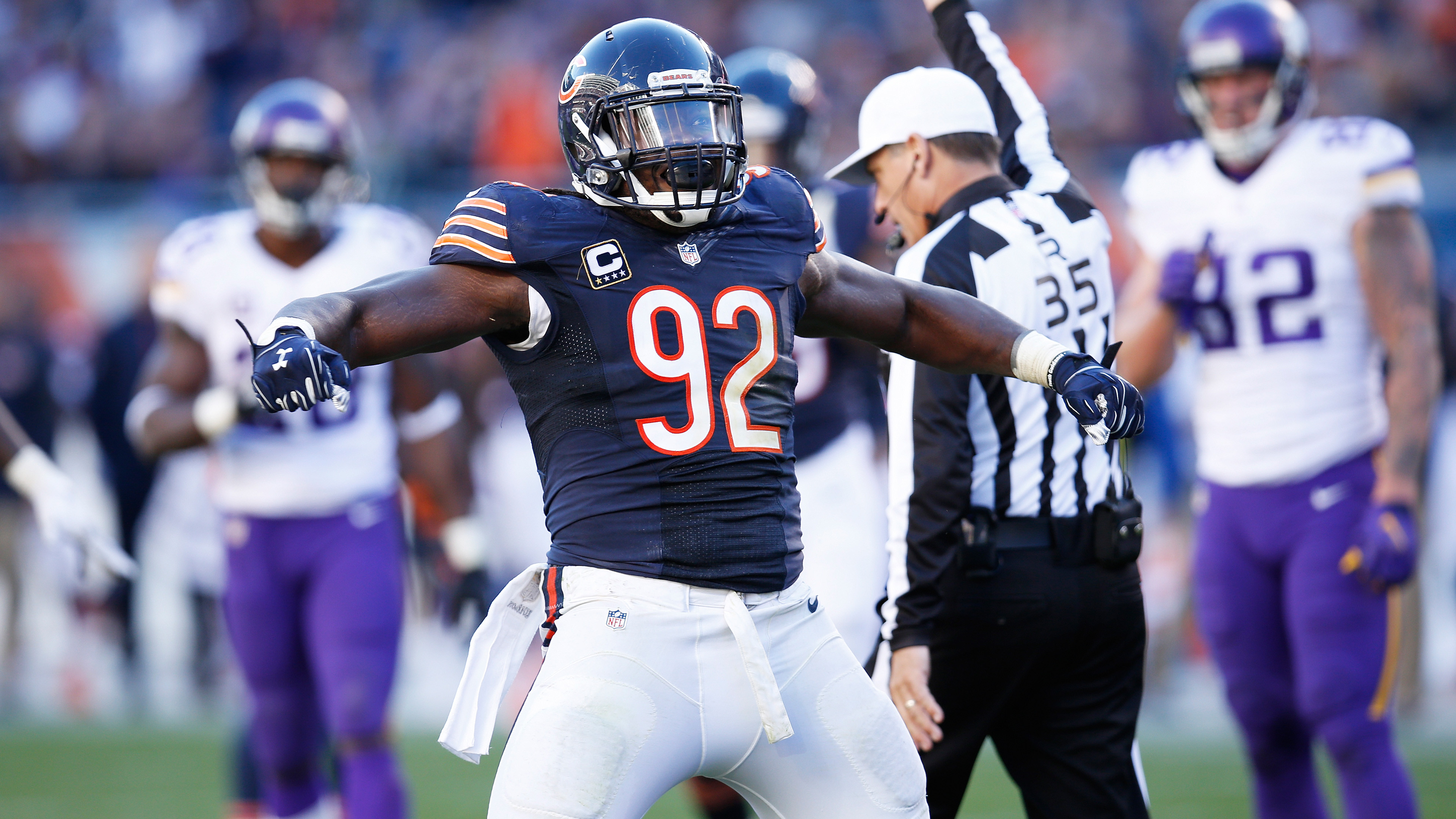 3840x2160 12 Best Chicago Bears Wallpapers #07 – Pernell McPhee – Chicago Bears  Roster | HD Wallpapers | Wallpapers Download | High Resolution Wallpapers