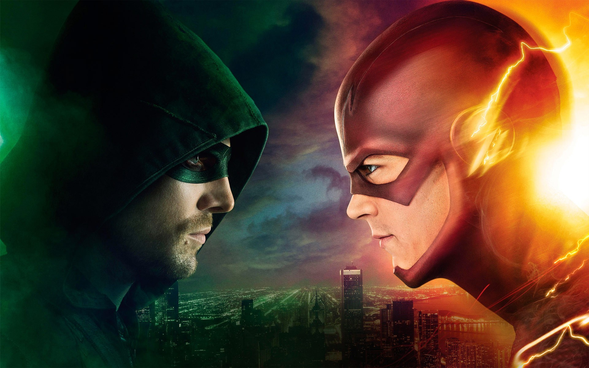 1920x1200 New York Comic-Con : The Flash and The Arrow sizzle reels released
