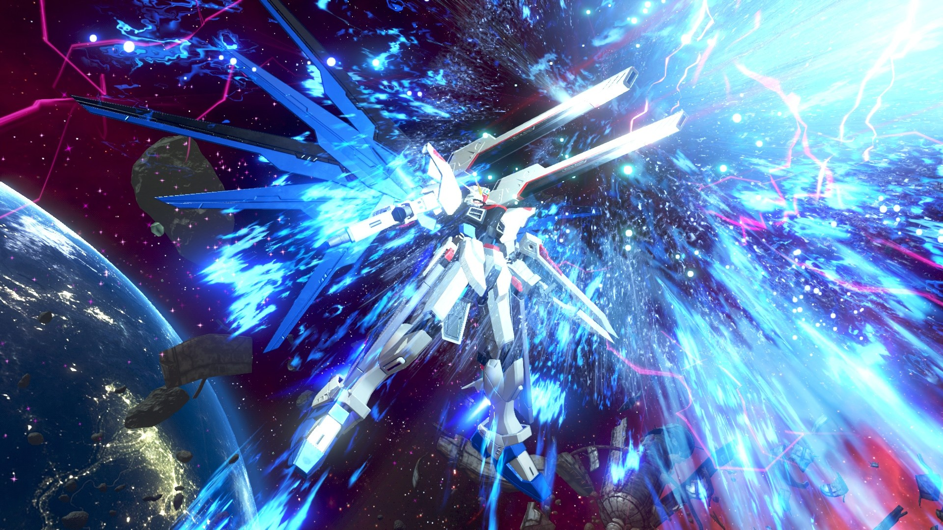 1920x1080 Awesome Gundam Versus PlayStation 4 (PS4) Game  wallpaper