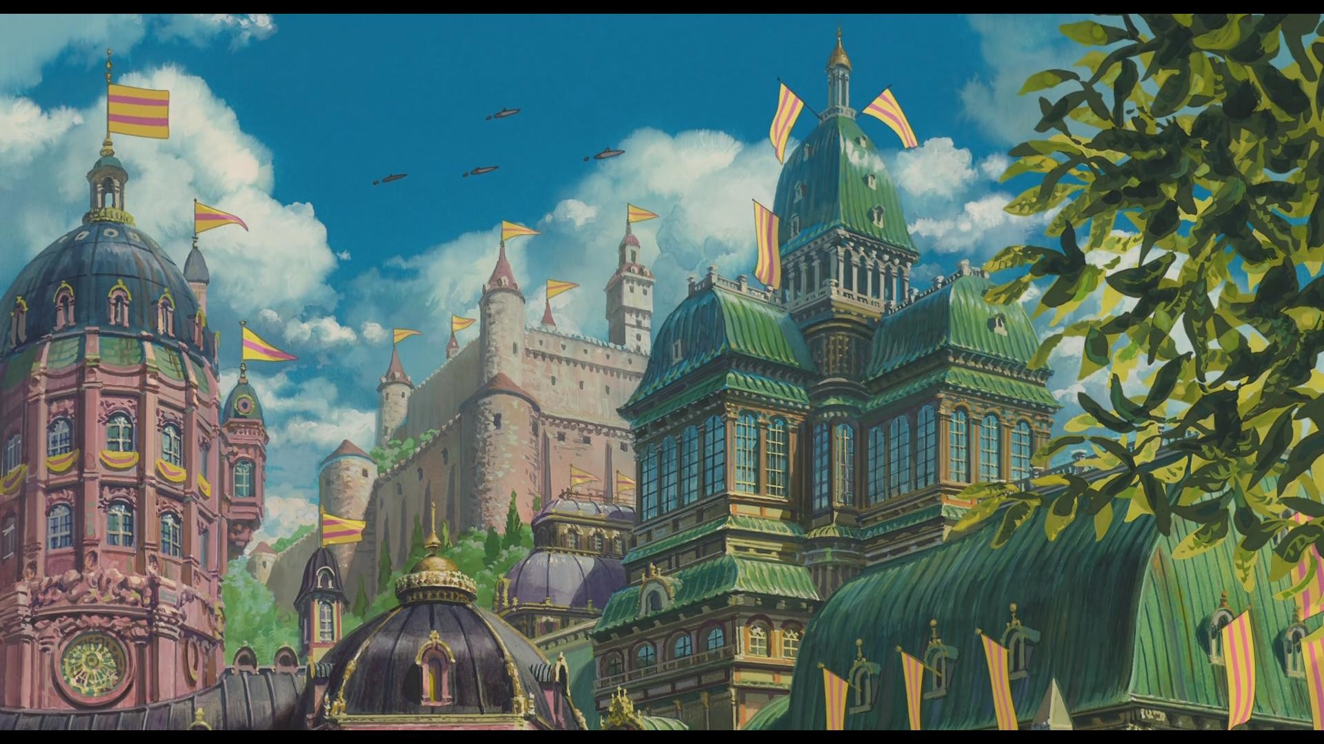 1920x1080 howl's moving castle wallpaper images (8) - HD Wallpapers Buzz