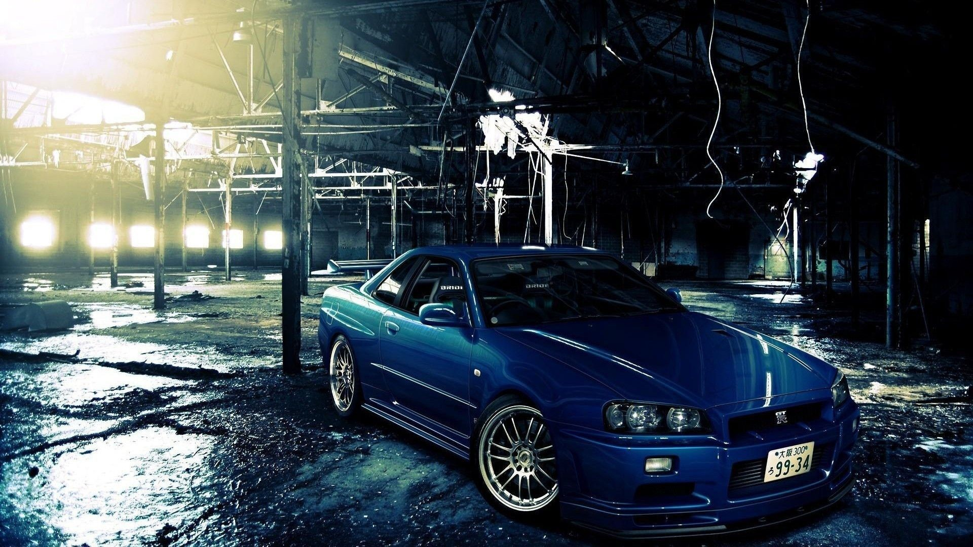 1920x1080 Nissan Skyline Gtr R34 Wallpaper