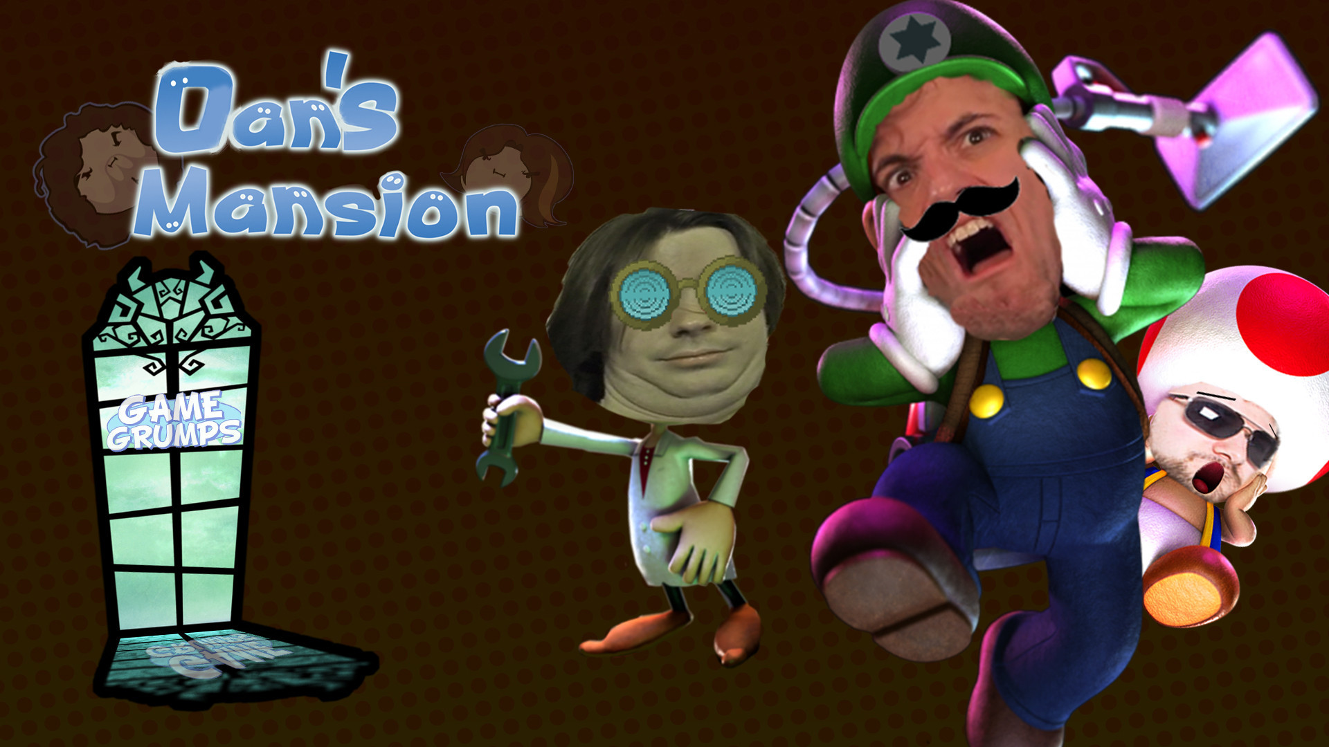1920x1080 In hopes that Luigi's Mansion comes back soon, I made this.
