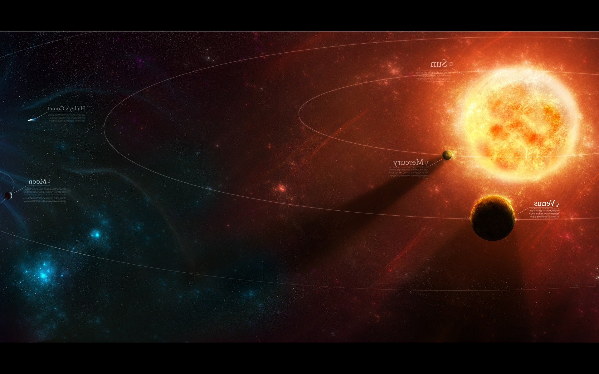 1920x1200 Solar System, Planet, Space Art Wallpapers HD / Desktop and Mobile  Backgrounds