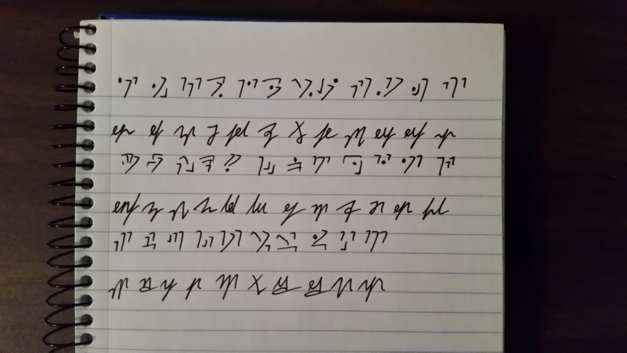 2048x1152 Sample words in parallel to their runes:
