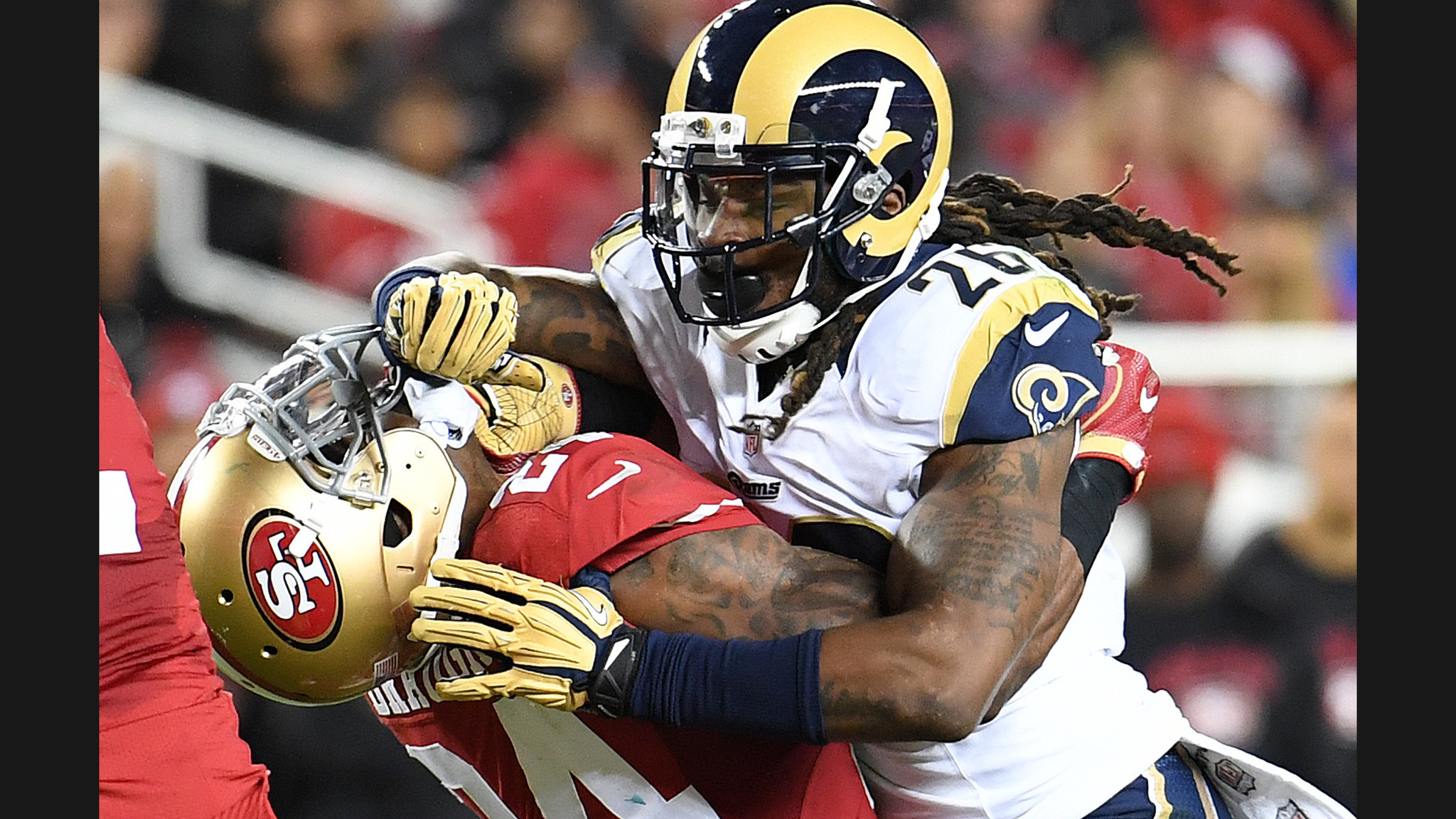 2048x1152 It's a forgettable opening night for the Los Angeles Rams in 28-0 loss to  the San Francisco 49ers - LA Times