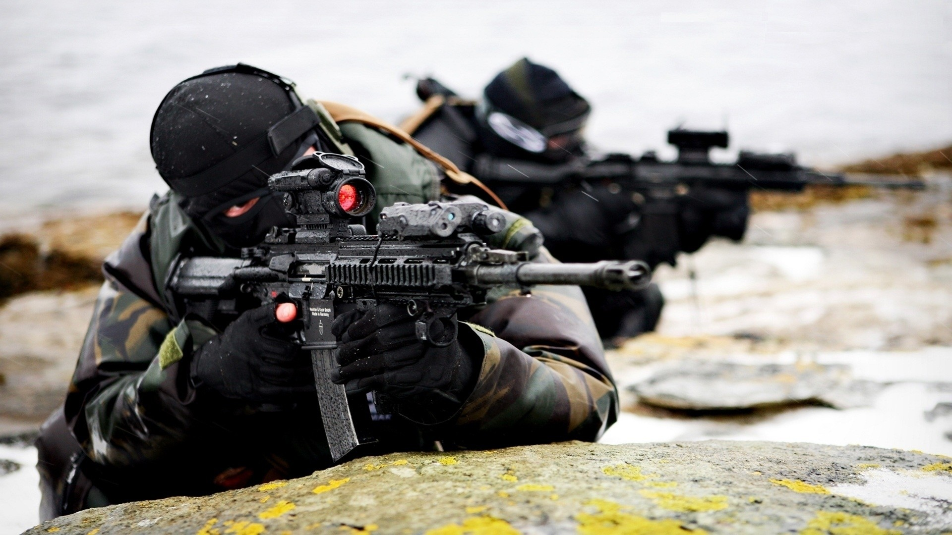 1920x1080 military norwegian hk416 future weapons aimpoint comp m4 HD Wallpapers