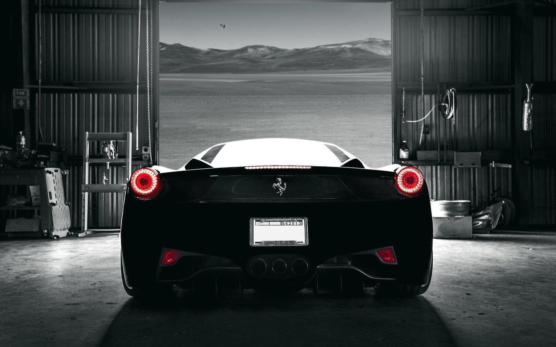 Black Ferrari Wallpaper (59+ Images