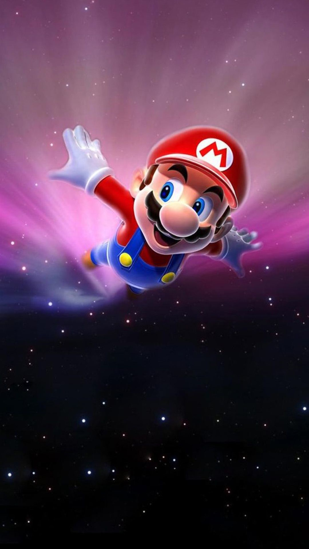 1080x1920 Super Mario Flying Poster Background #wallpaper For the kids :)