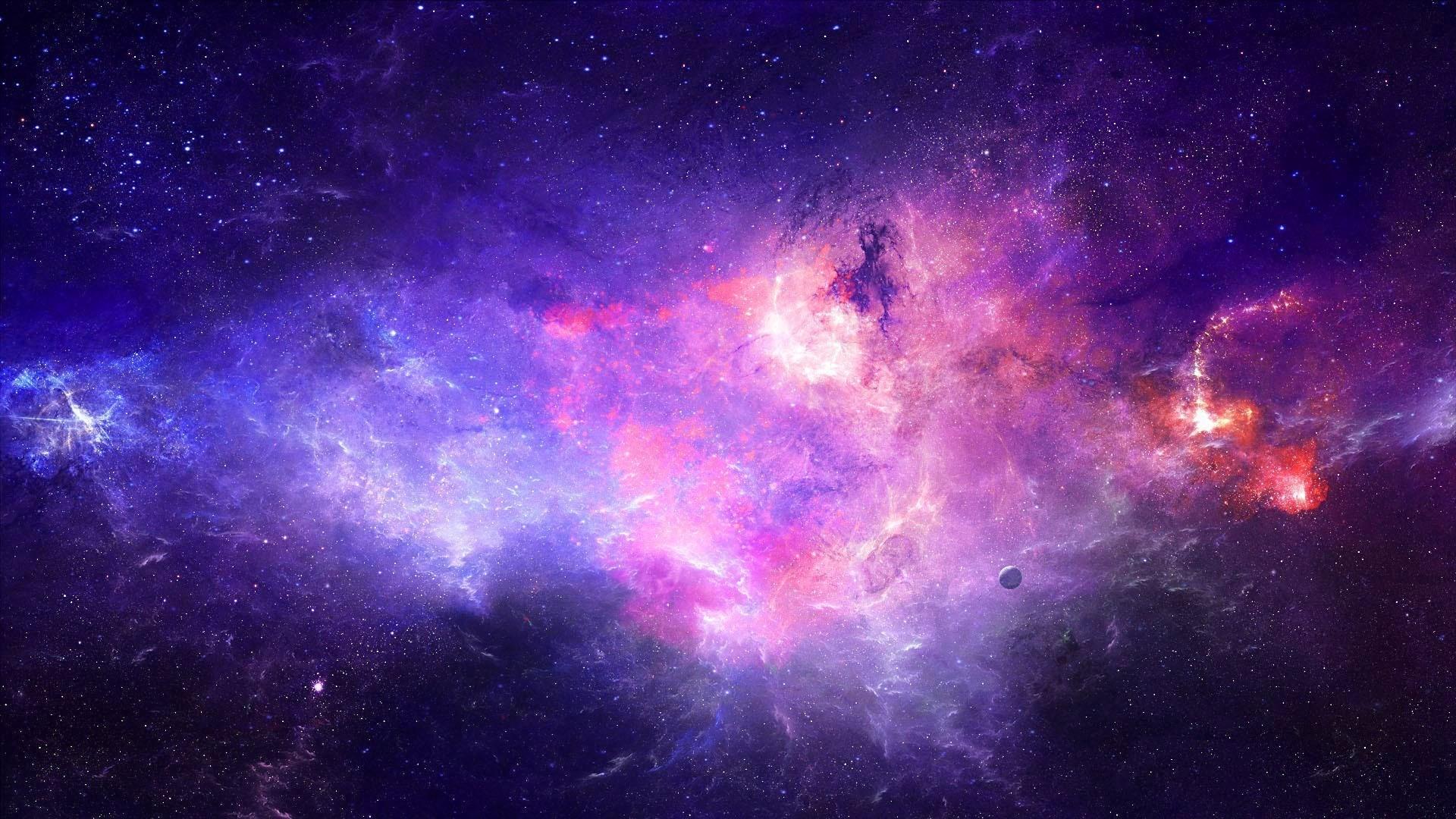 Hd Purple Space Wallpaper 65 Images