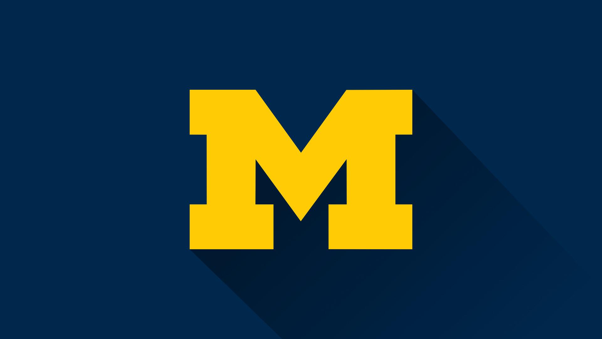 Michigan Wolverines Logo Wallpaper (68+