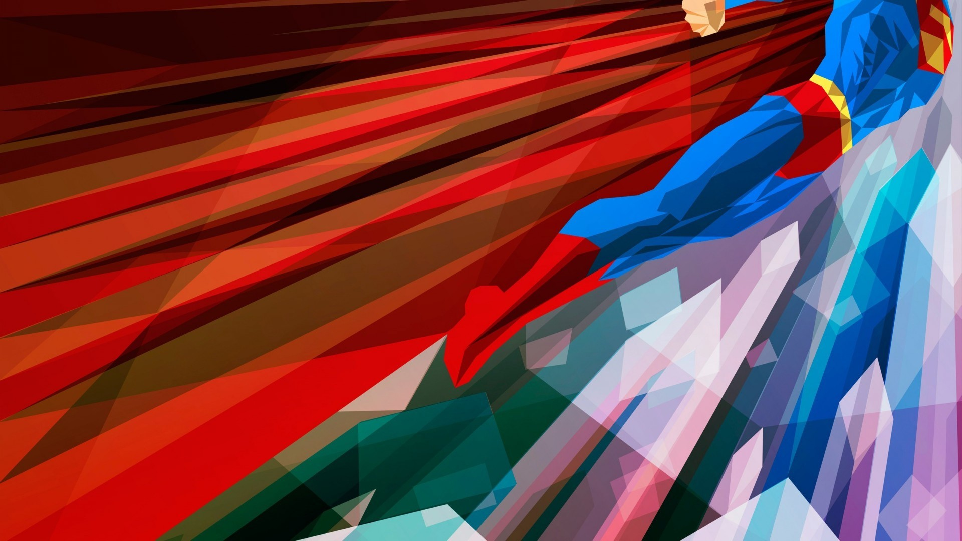 1920x1080 Superman Abstract 3D Wallpaper 1080P Super Man