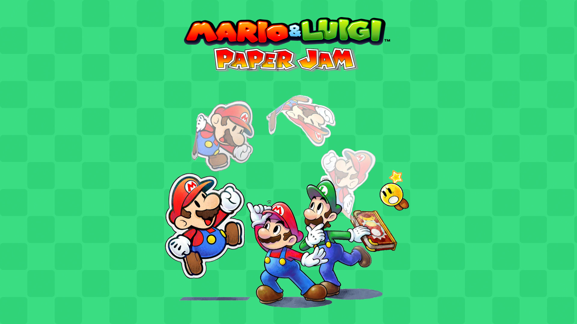 1920x1080 4 Mario & Luigi: Paper Jam HD Wallpapers | Backgrounds - Wallpaper Abyss