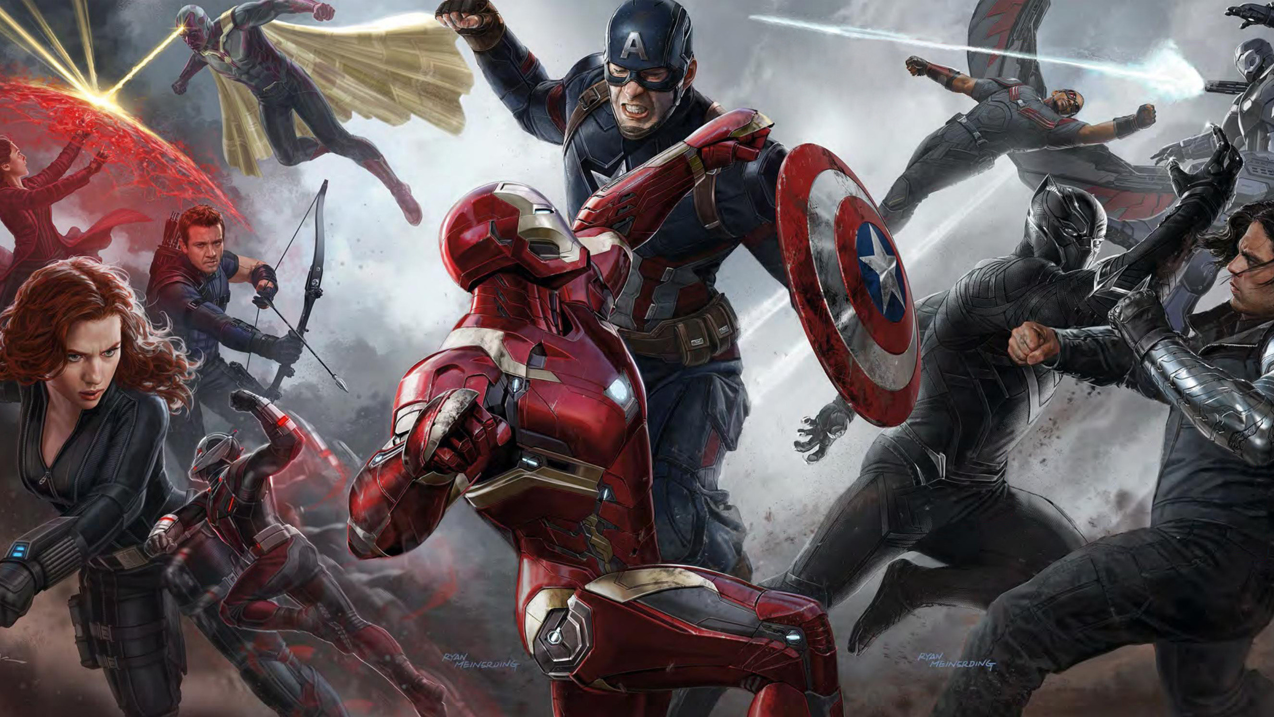 Hd Marvel Wallpapers For Desktop 58 Images