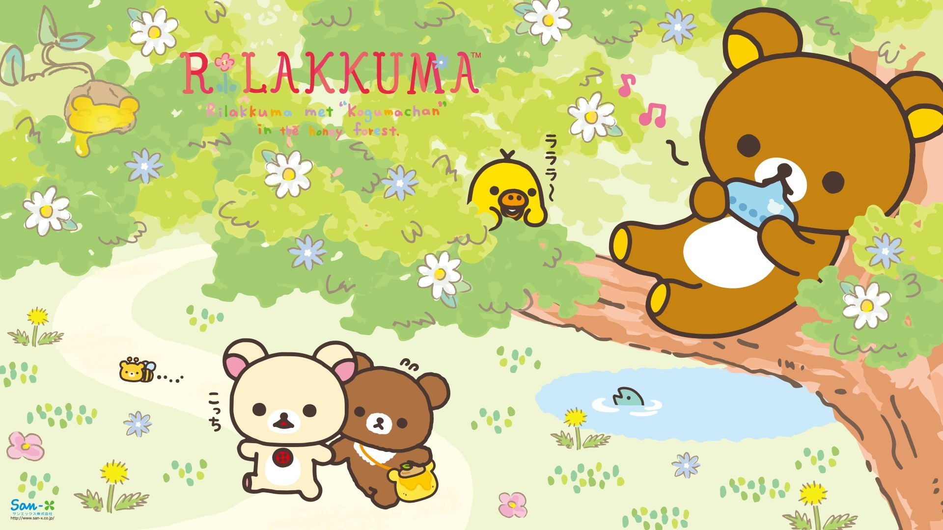 1920x1080 rilakkuma cat iphone wallpaper ...
