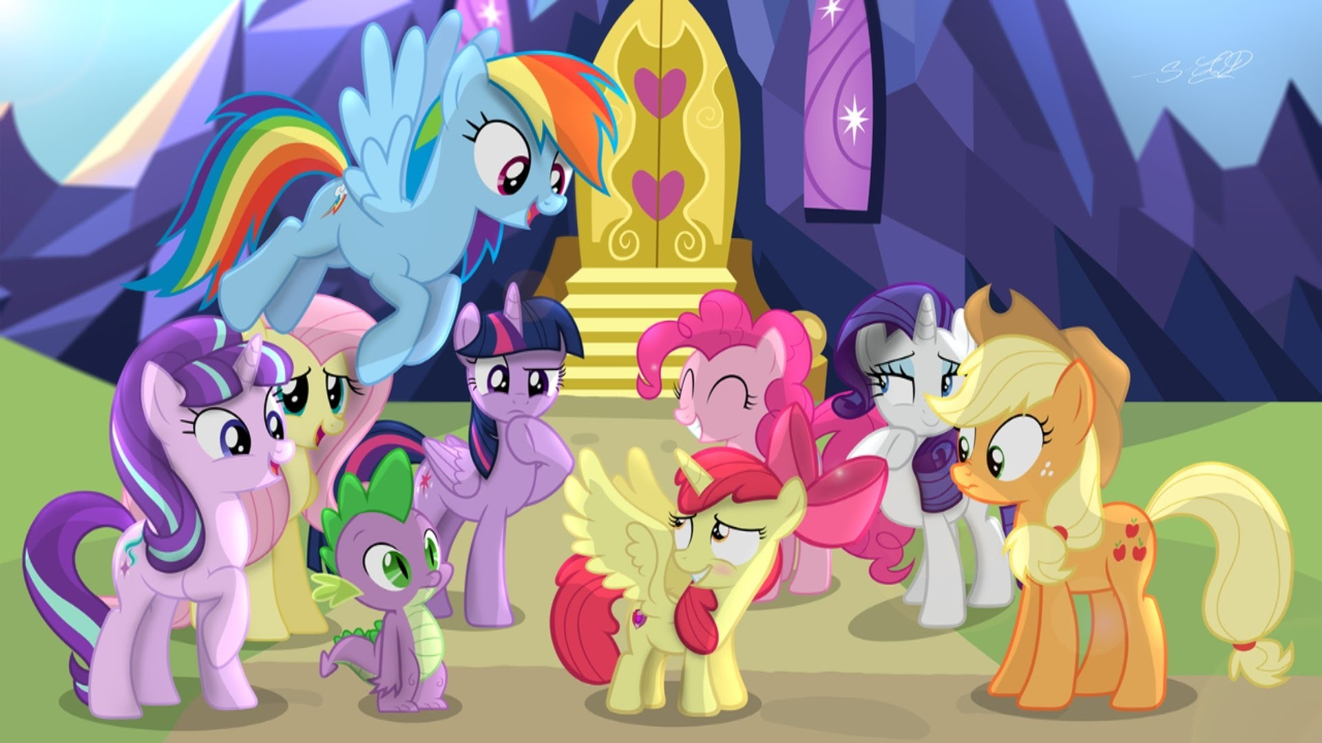 My little pony live wallpaper 80 images - My little pony en humain ...