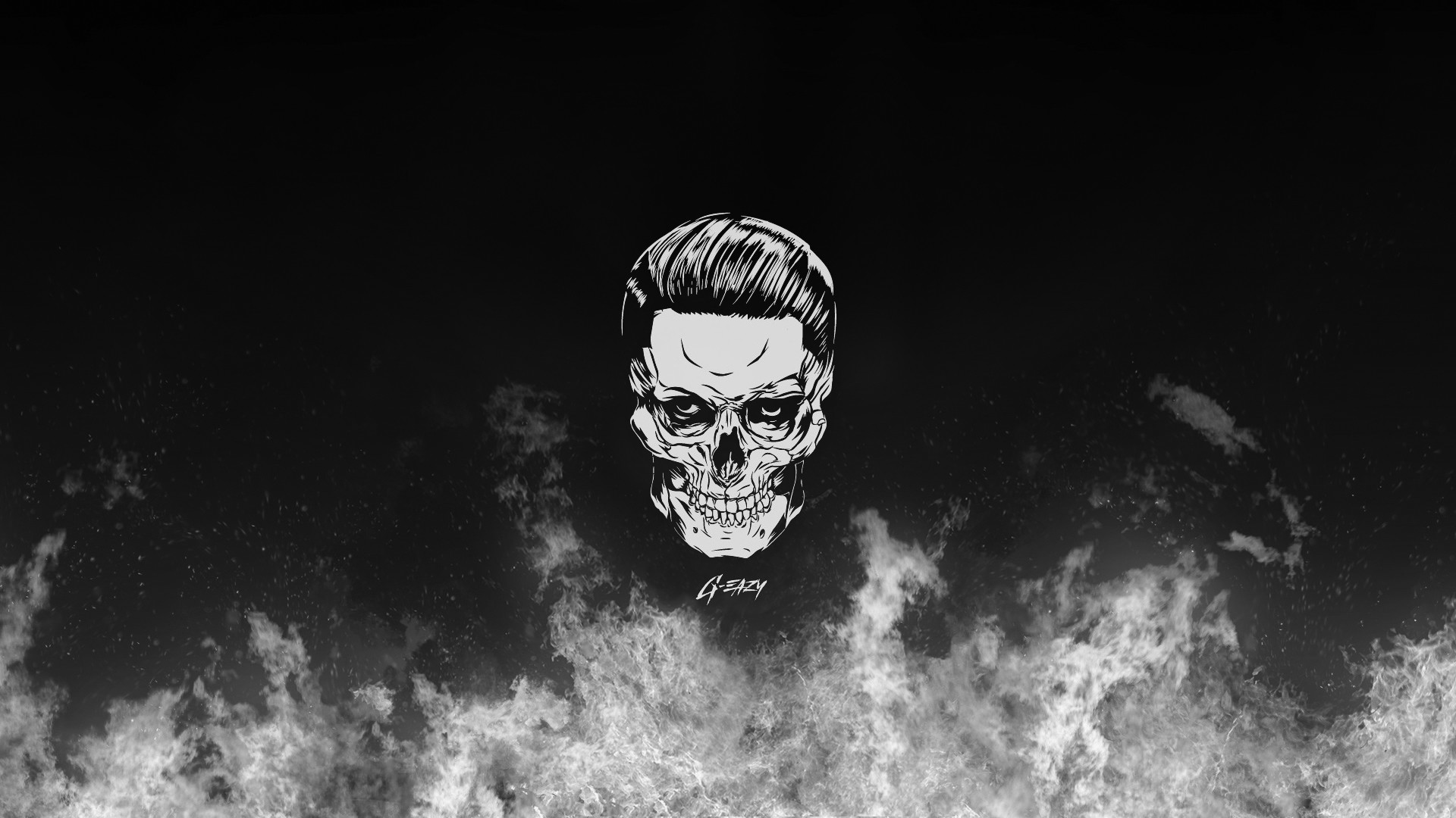 1920x1080 Best Wallpaper Gallery With G Eazy Skull And HD Wallpapers We Collected Full