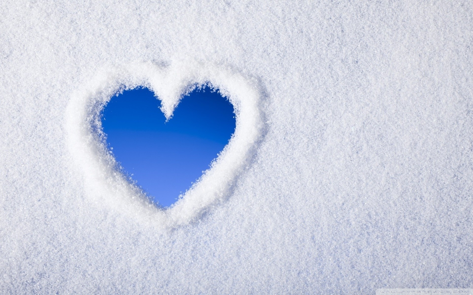 1920x1200 Snow Love HD Wide Wallpaper for Widescreen