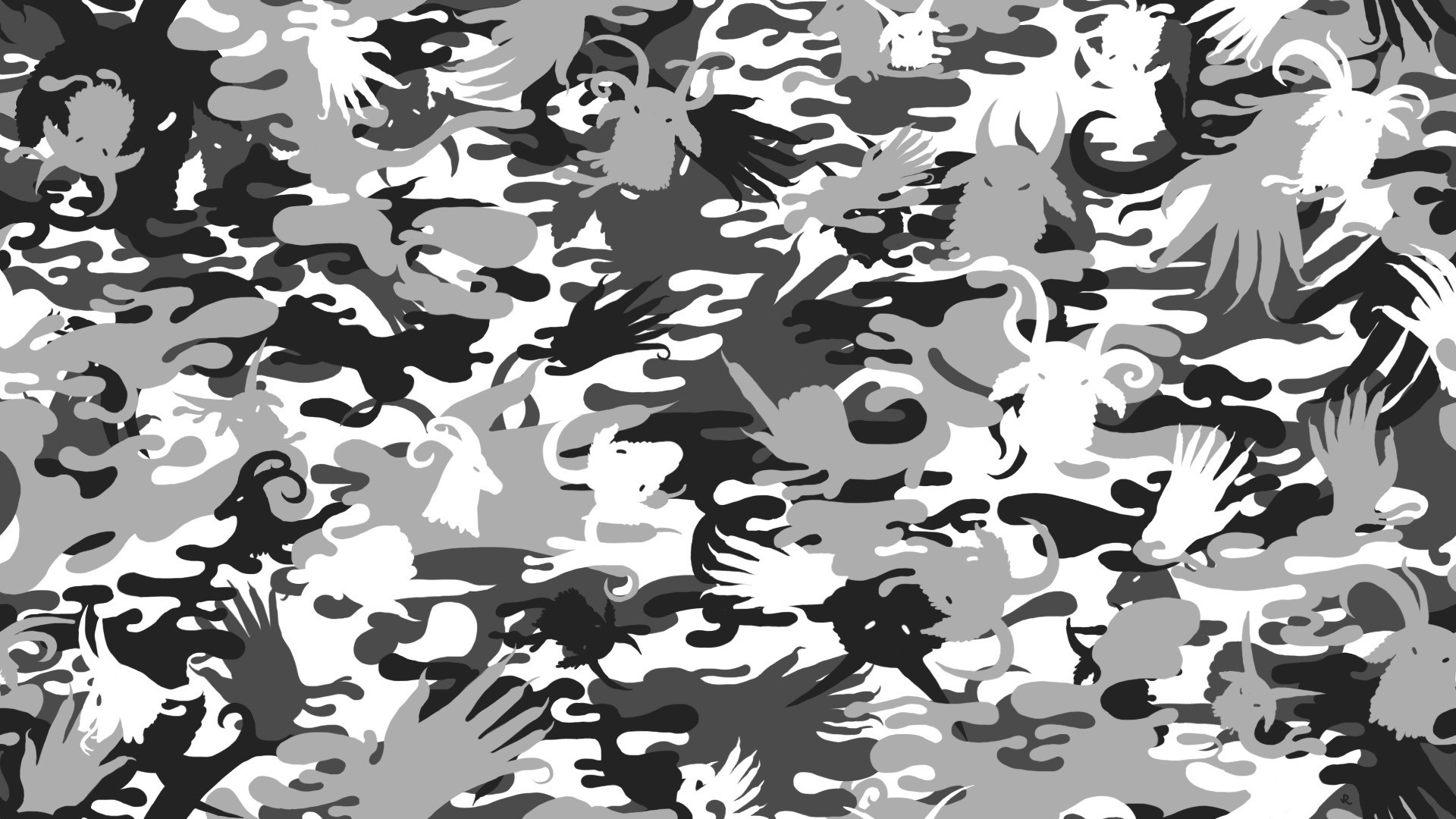 1920x1080 Camo Pattern Wallpaper.