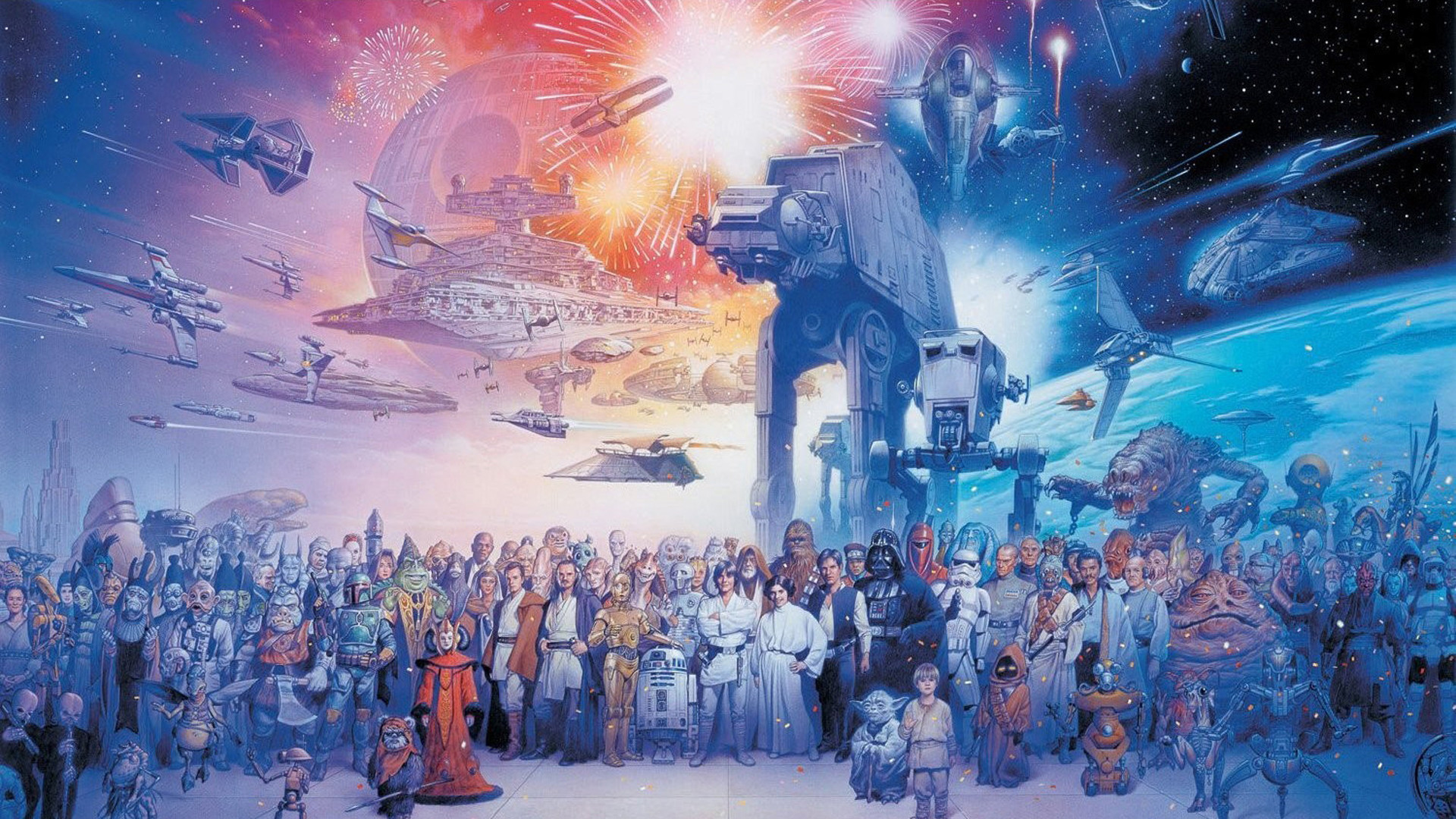 Classic Star Wars Desktop Wallpaper 51 Images