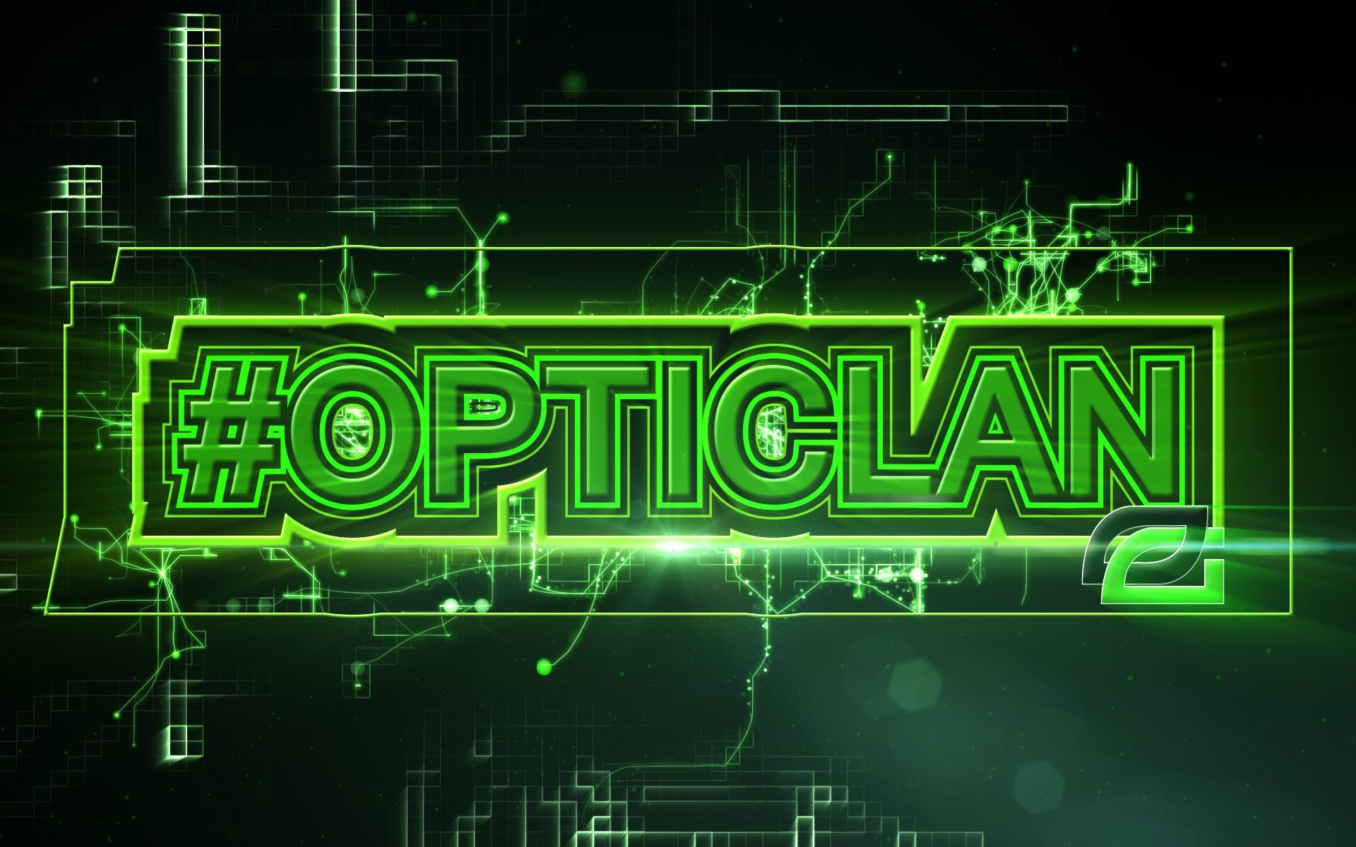 1920x1200 #OpTicLan.  Wallpaper for support of OpTic Gaming Organisation.
