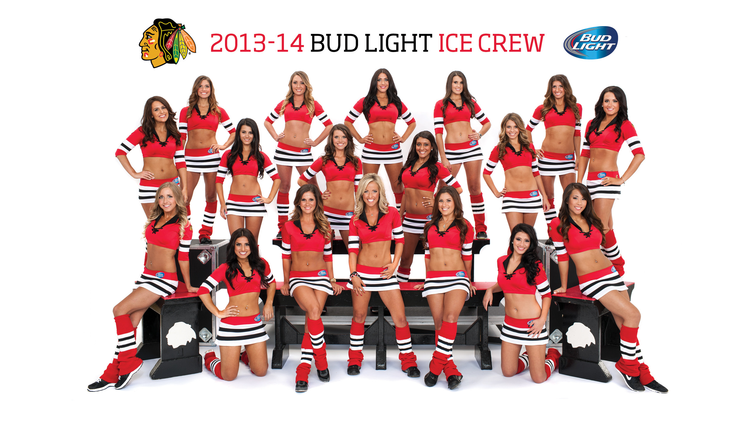 2560x1440 Chicago Blackhawks Ice Girls Wallpaper - WallpaperSafari