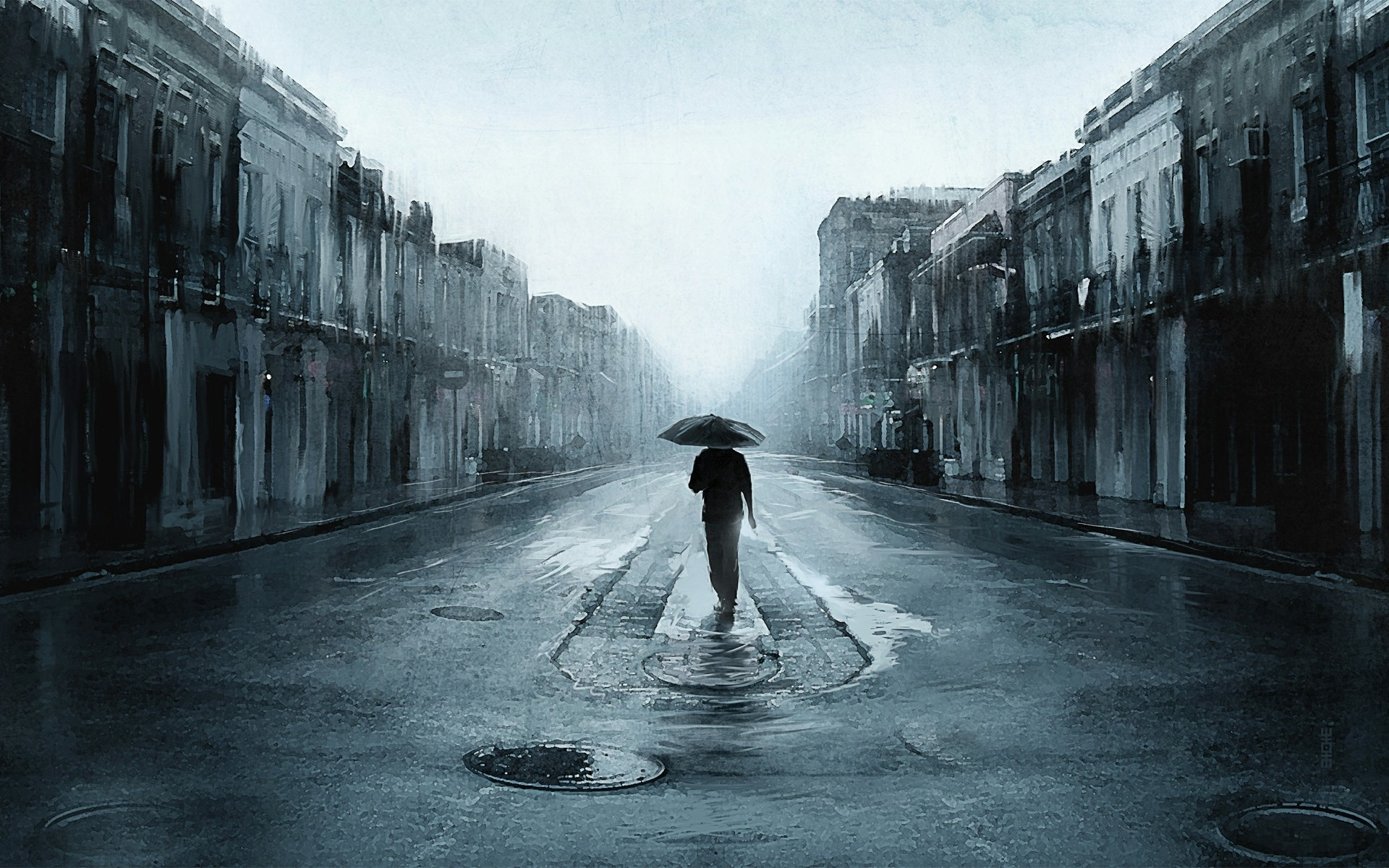 1920x1200 Rain-Wallpaper-Free-Download-Beautiful