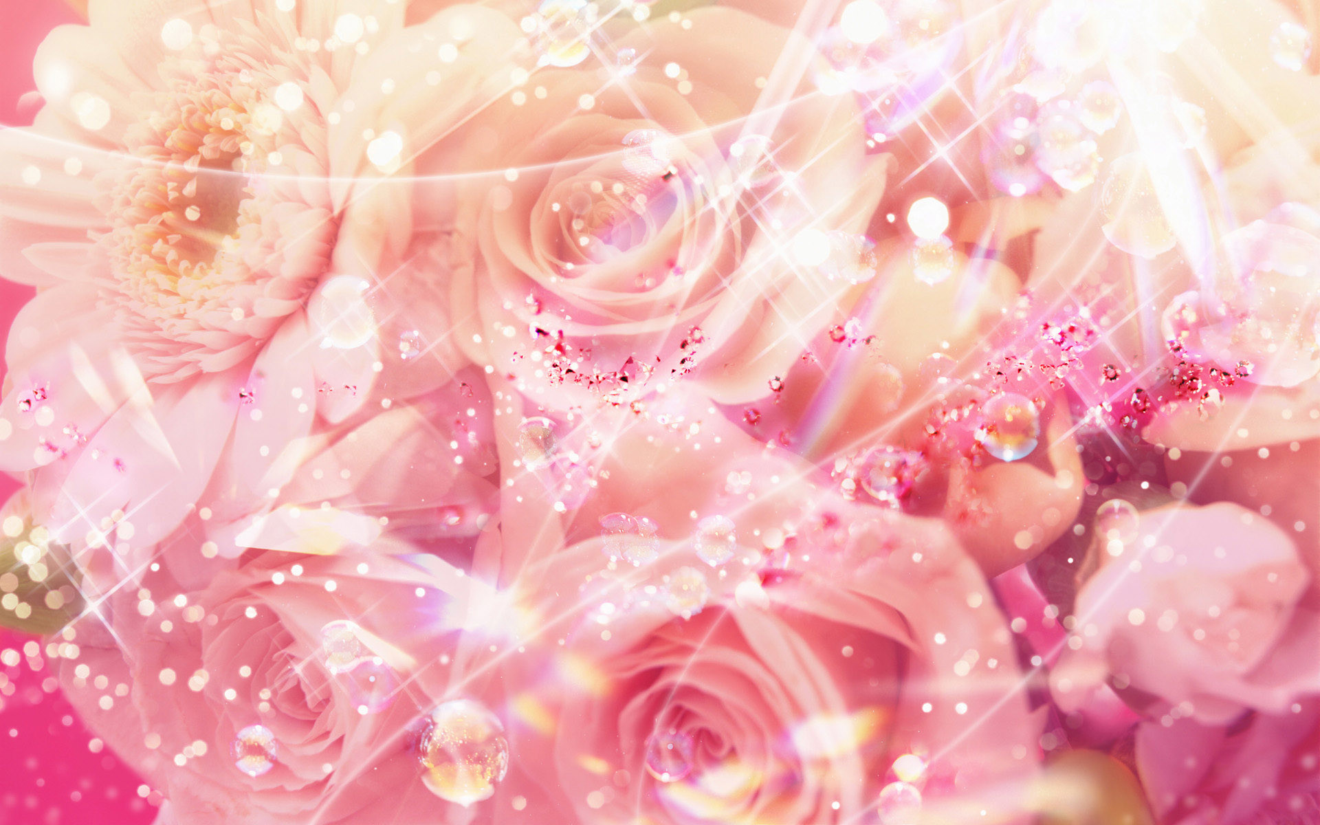 1920x1200 ... glitter flower backgrounds the most beautiful flower 2017 ...