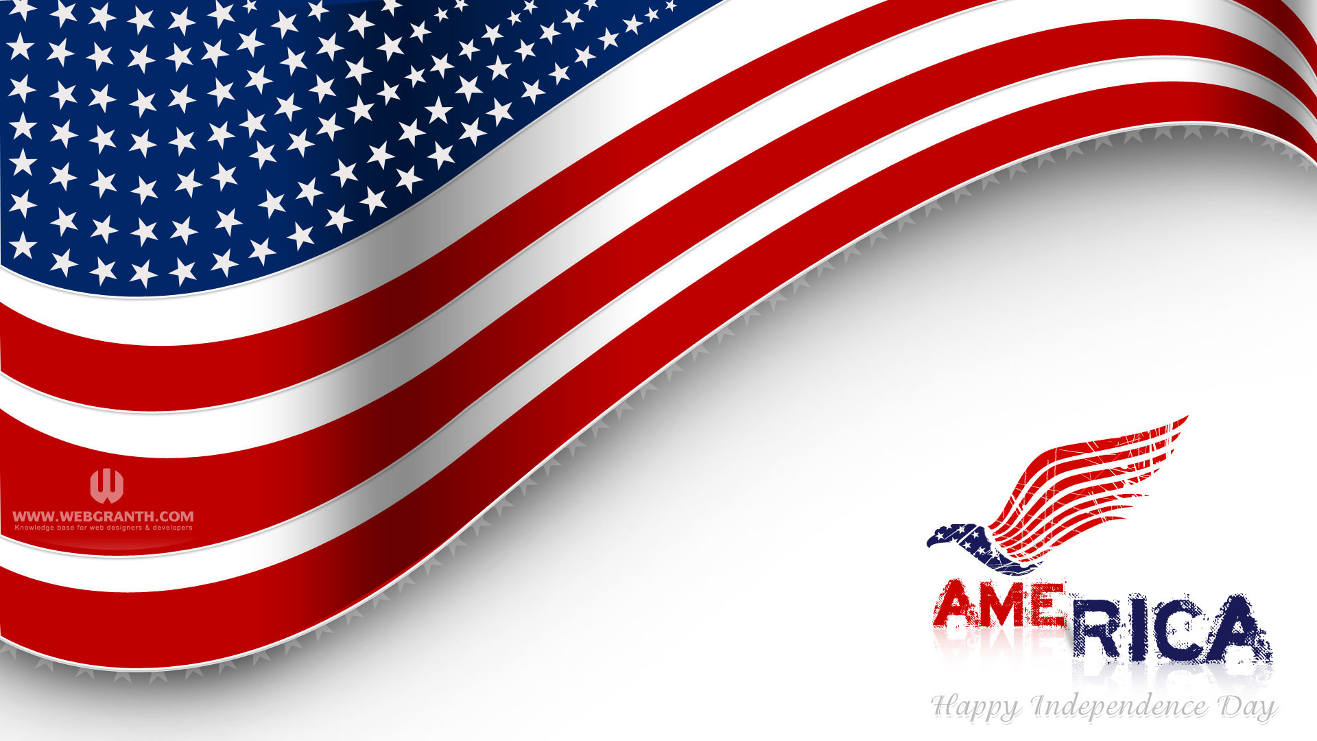 1920x1080 US Independence Day background image desktop wallpaper