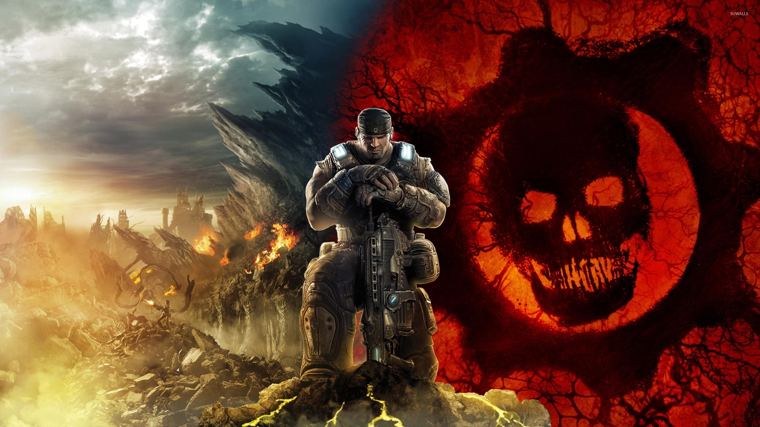 2560x1440 Gears of War 3 [16] wallpaper